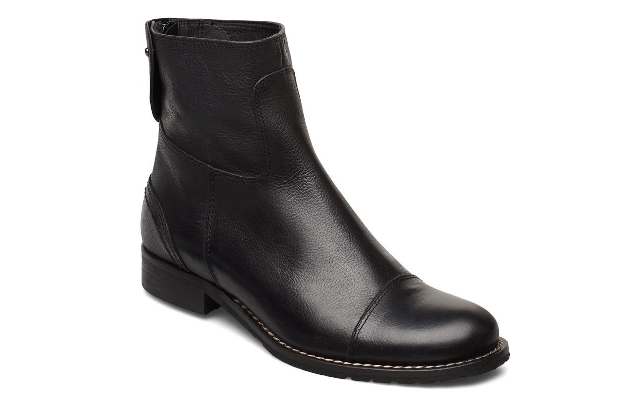 Ilse Jacobsen ANKLE BOOTS - BLACK