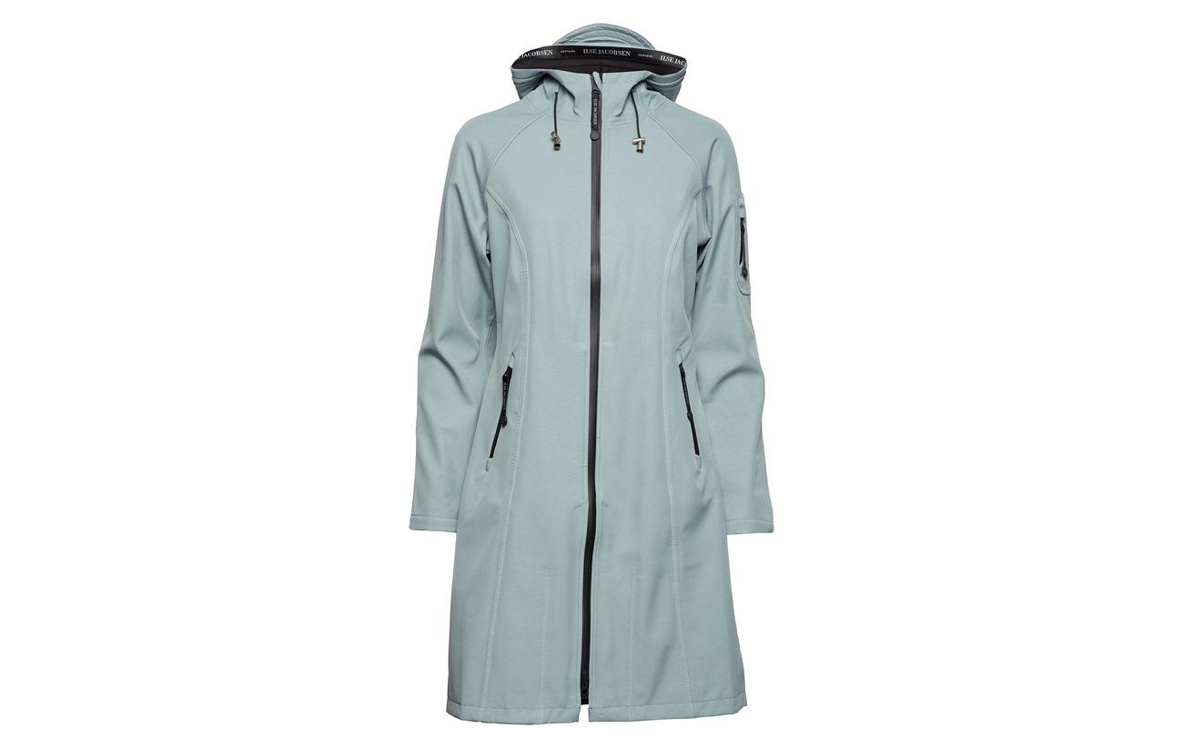 Elastane Raincoat Bonding Blue Jacobsen 94 Long 6 100 Ilse Polyester Polyester Rock gE8qpxzzw
