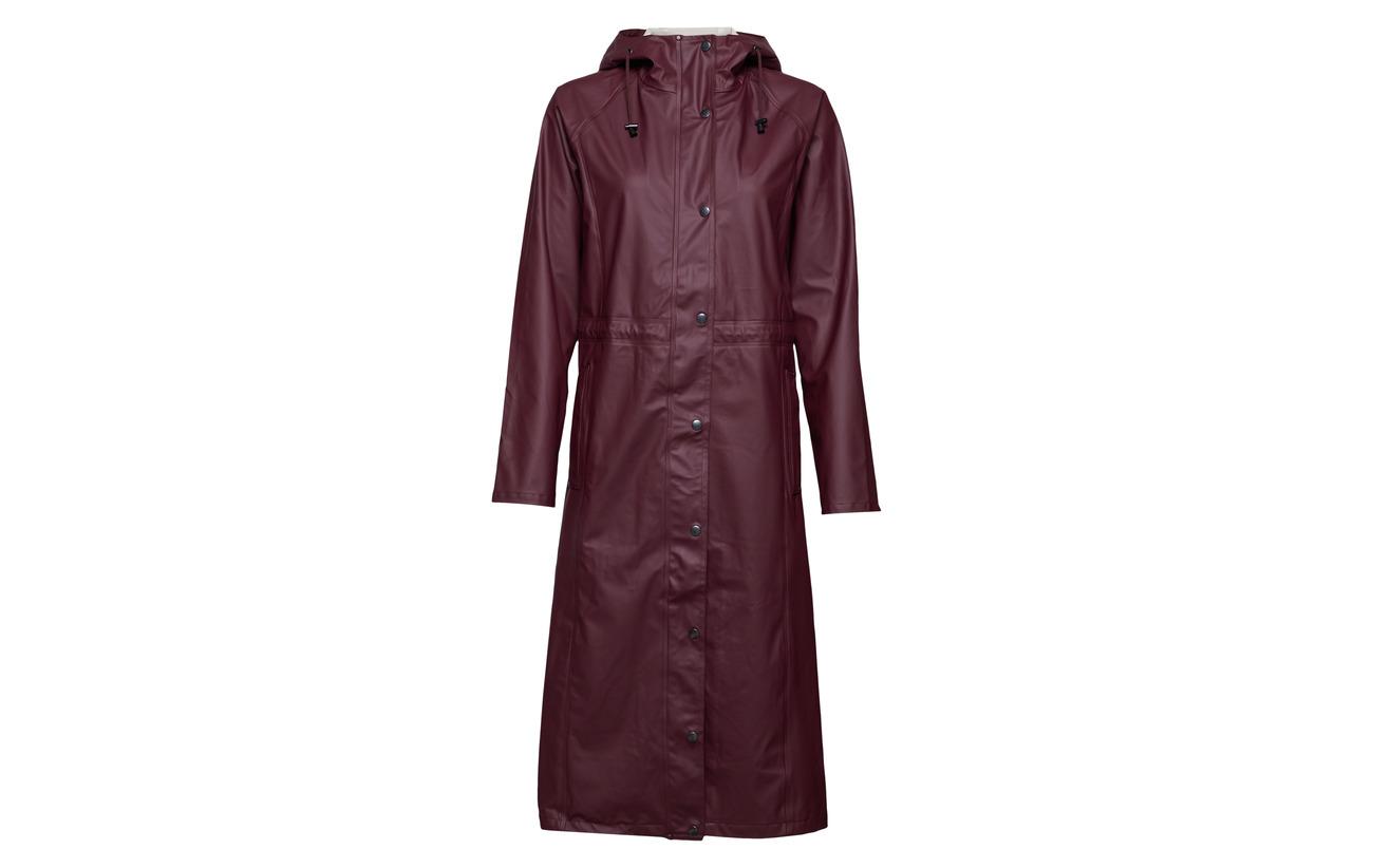 Polyester Winetasting Raincoat Ilse Jacobsen 100 wOPqafxT