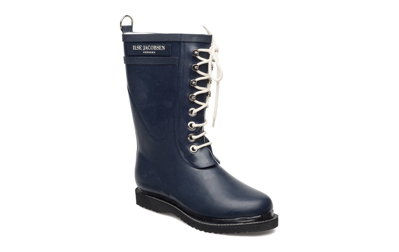 Ilse Jacobsen 3/4 RUBBERBOOT - DARK INDIGO