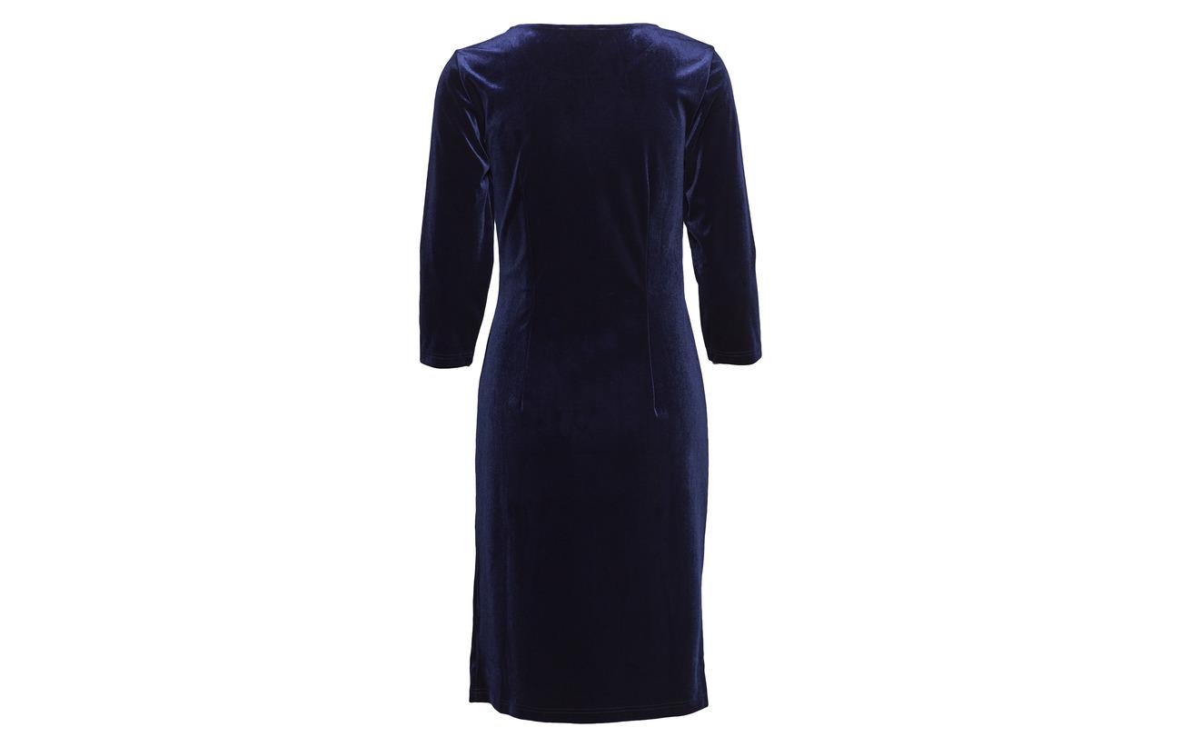 Polyester Dress Ilse 5 Jacobsen Blue 95 Elastane Maritime O8nWXqpU