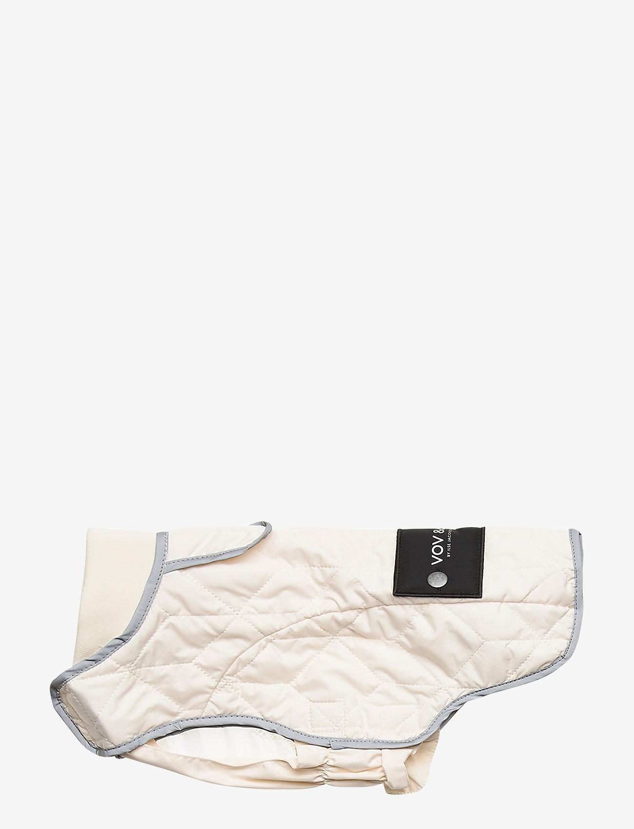 Ilse Jacobsen - Dog Quilt Coat - accessoires pour chiens - milk creme - 0