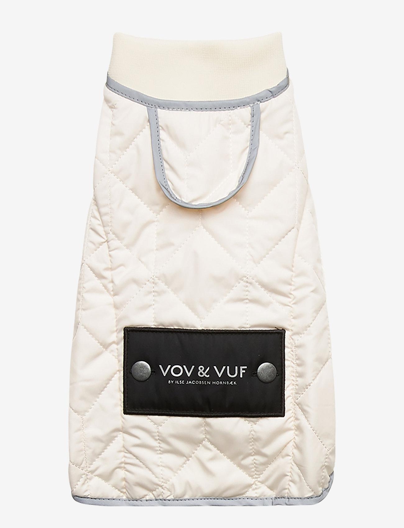 Ilse Jacobsen - Dog Quilt Coat - accessoires pour chiens - milk creme - 1