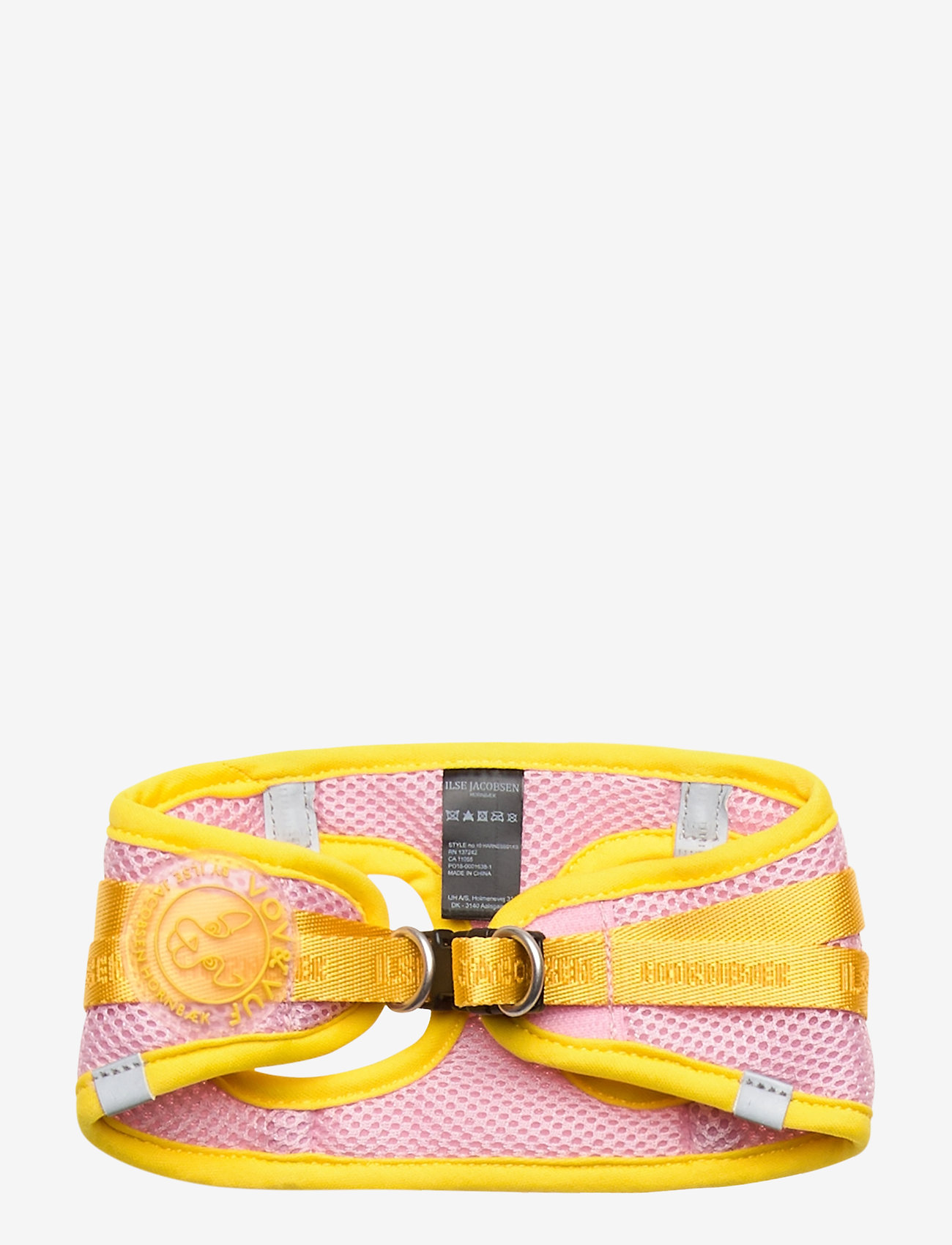 Ilse Jacobsen - Dog Harness - dog accessories - amber yellow rosebud - 1