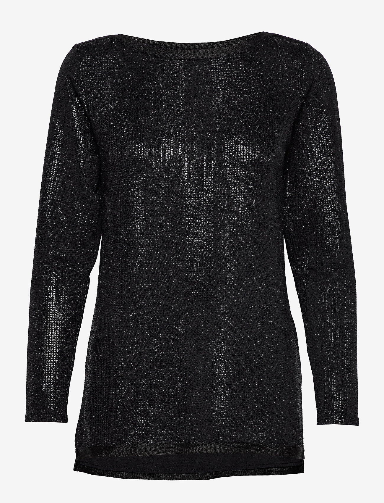Ilse Jacobsen - BLOUSE - blouses à manches longues - black - 0