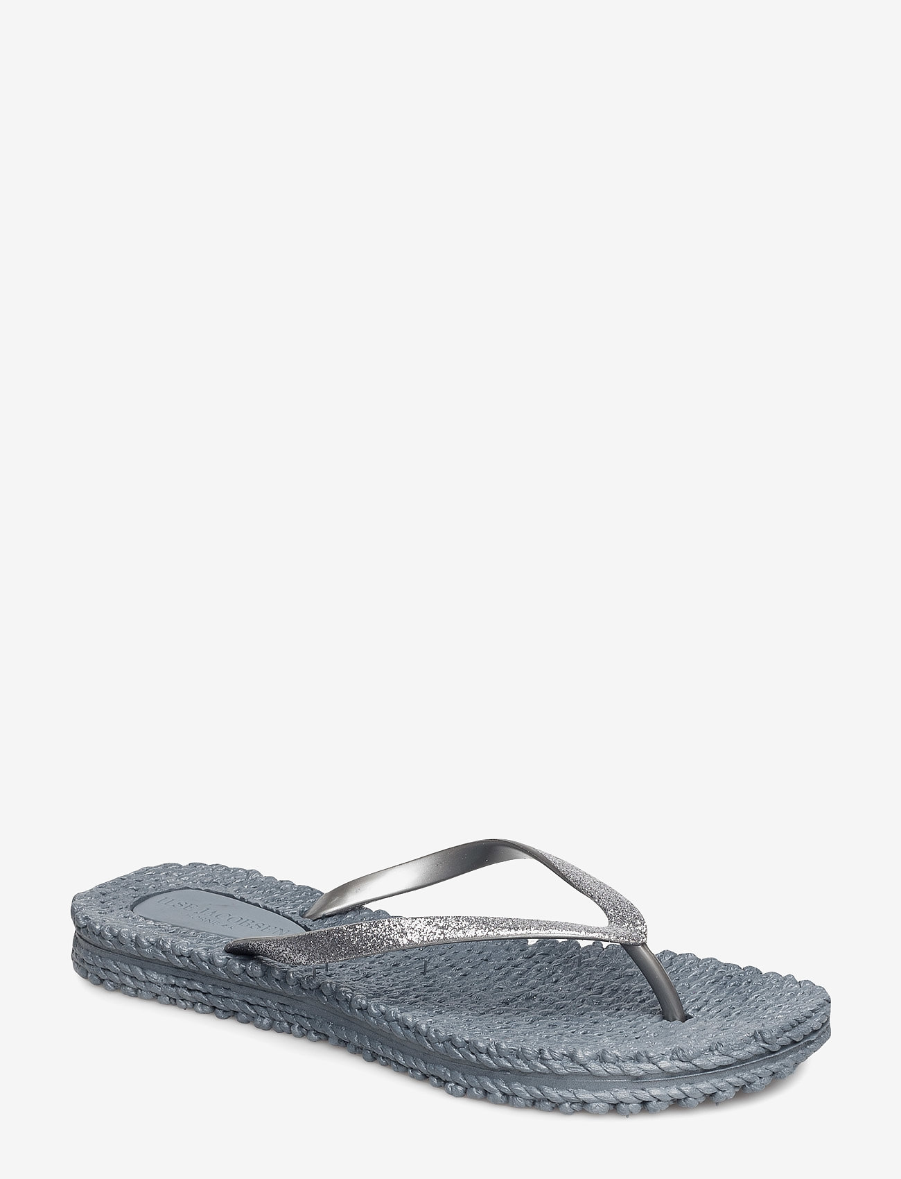Ilse Jacobsen - FLIPFLOP WITH GLITTER - teenslippers - grey - 1