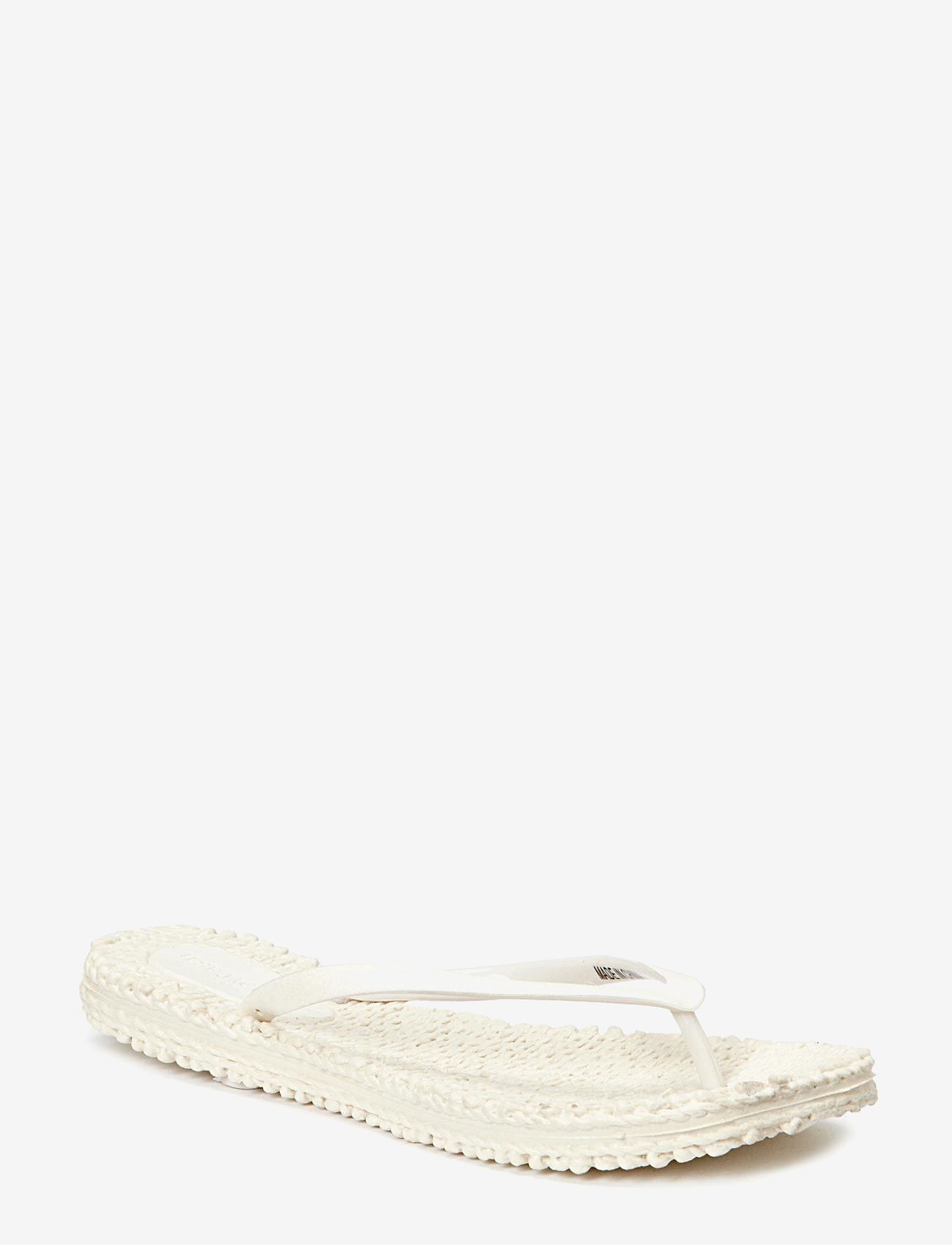 Ilse Jacobsen - FLIPFLOP WITH GLITTER - teenslippers - creme - 0