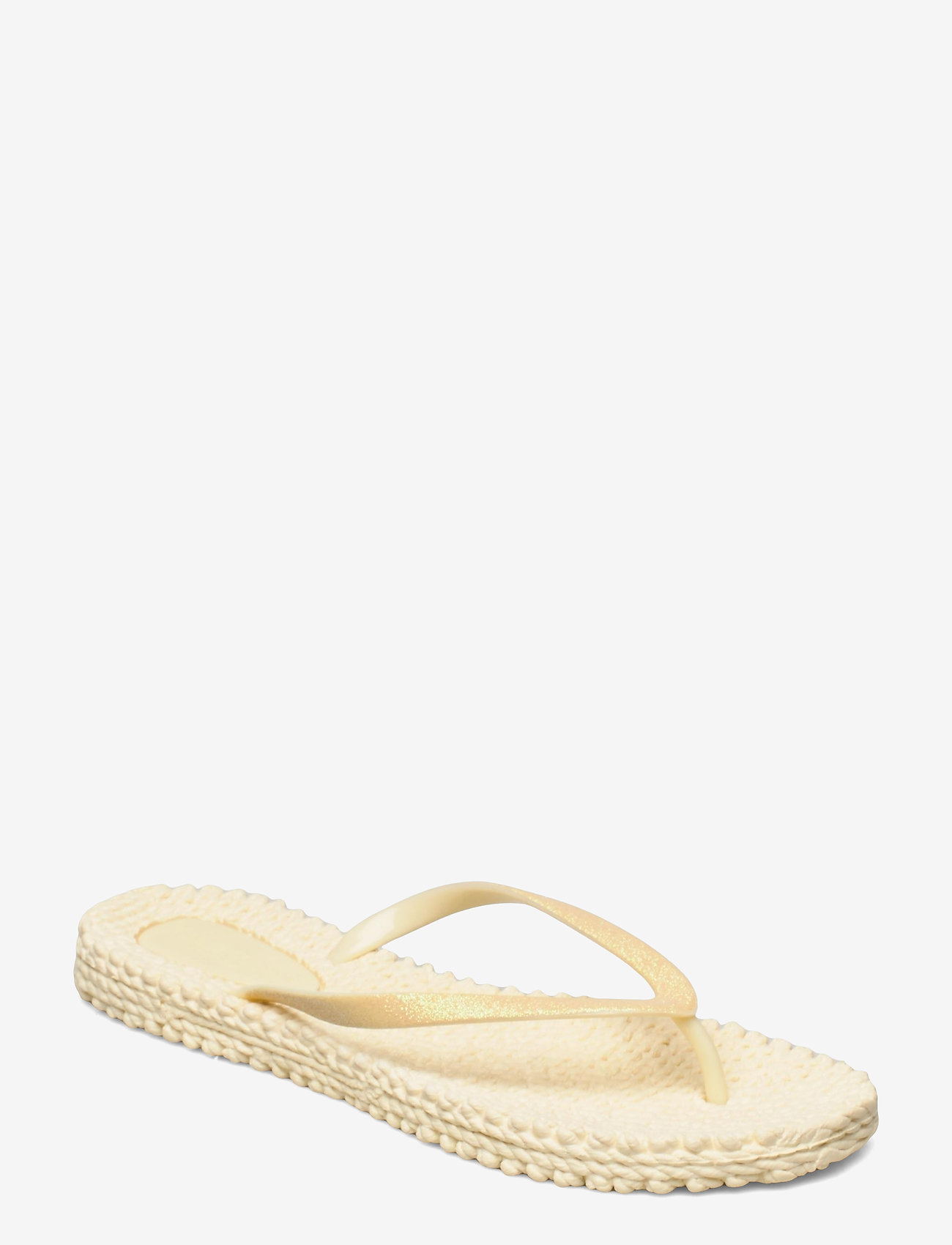 Ilse Jacobsen - FLIPFLOP WITH GLITTER - teenslippers - pear sorbet - 0