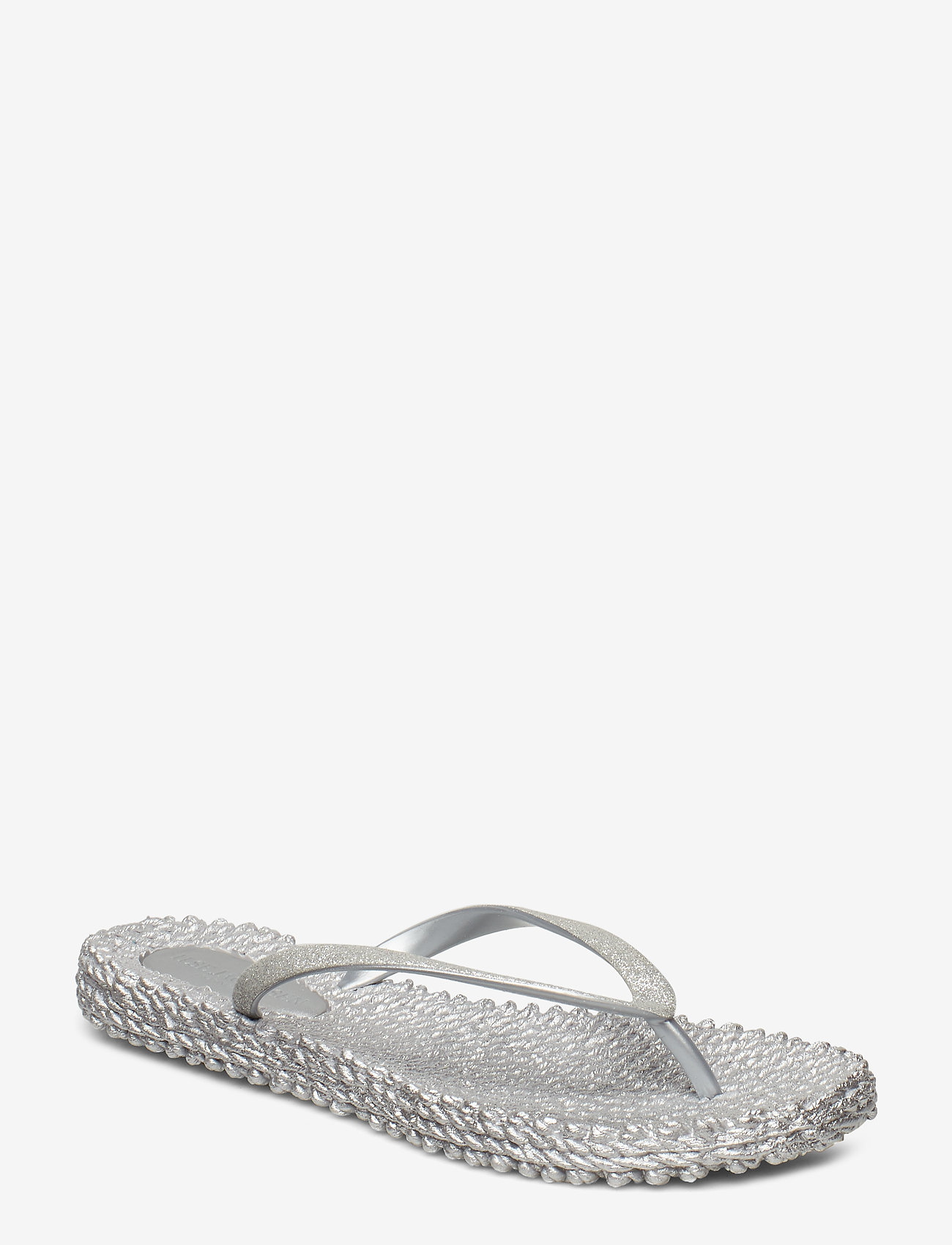 Ilse Jacobsen - FLIPFLOP WITH GLITTER - teenslippers - silver - 0