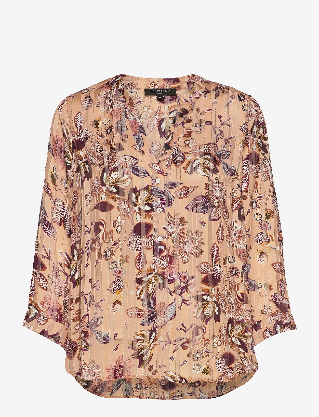 Ilse Jacobsen - Shirt - langærmede skjorter - soft coral - 0