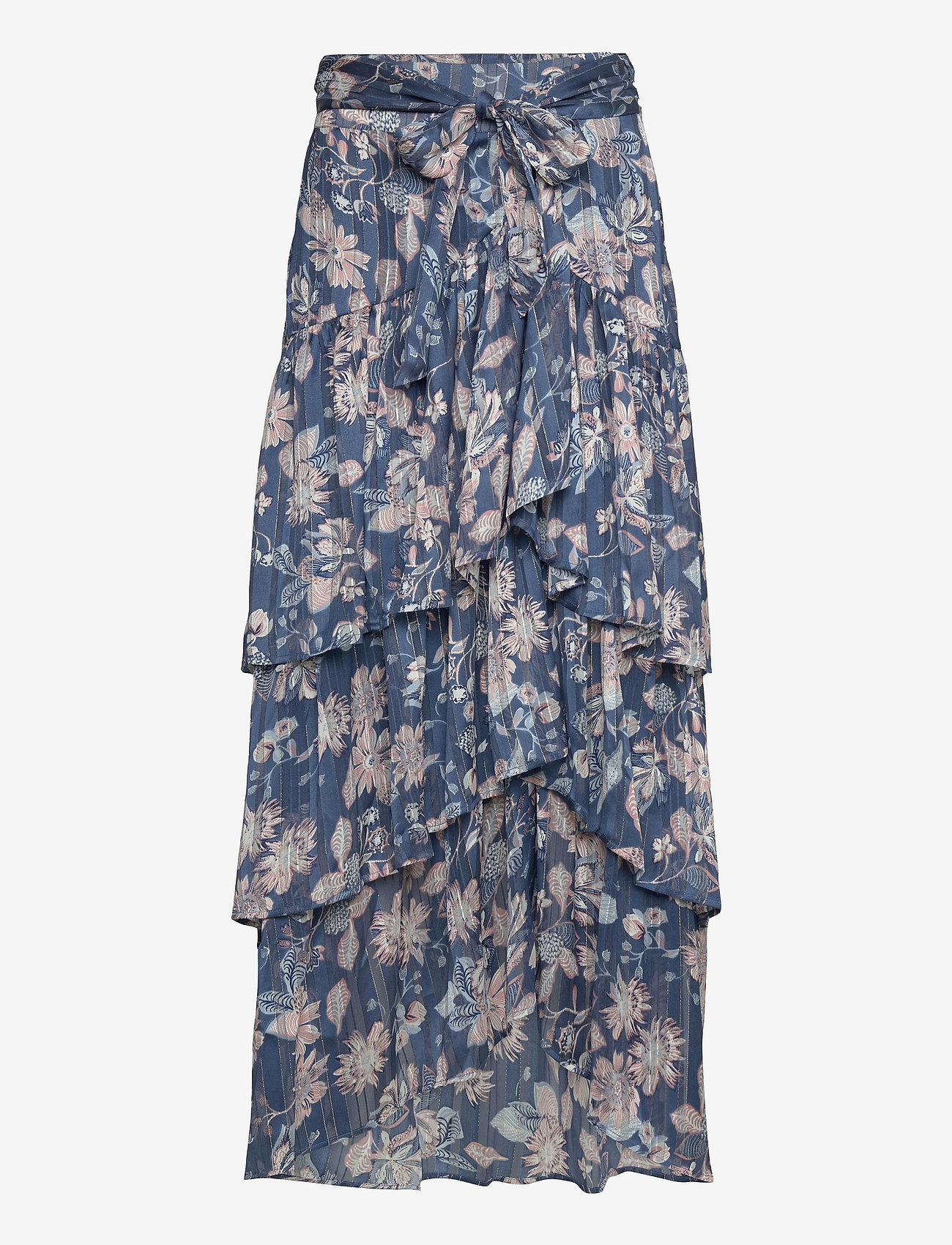 Ilse Jacobsen - Skirt - maxi nederdele - orion blue - 0