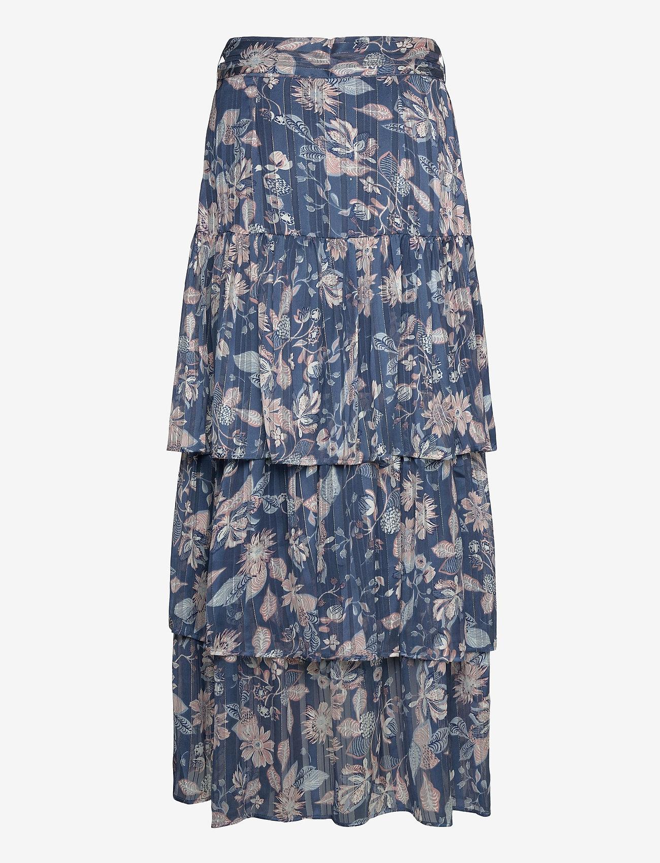 Ilse Jacobsen - Skirt - maxi nederdele - orion blue - 1