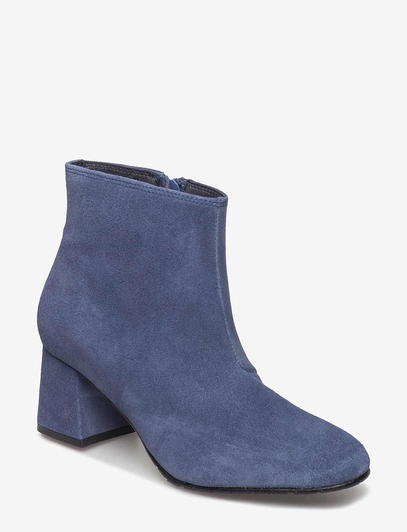Ilse Jacobsen - SUEDE ANKLE BOOT - talon haut - submarine - 0