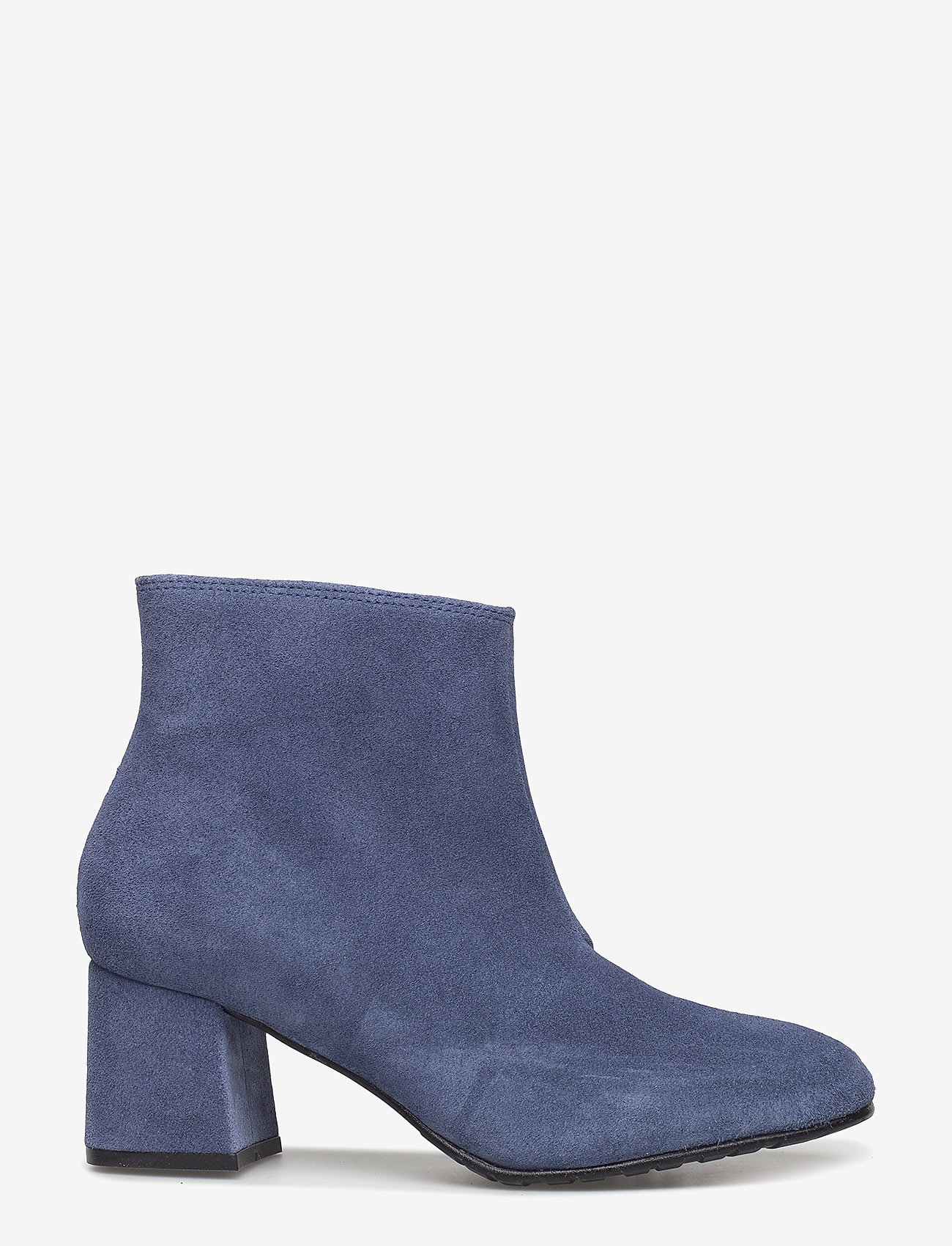 Ilse Jacobsen - SUEDE ANKLE BOOT - talon haut - submarine - 1