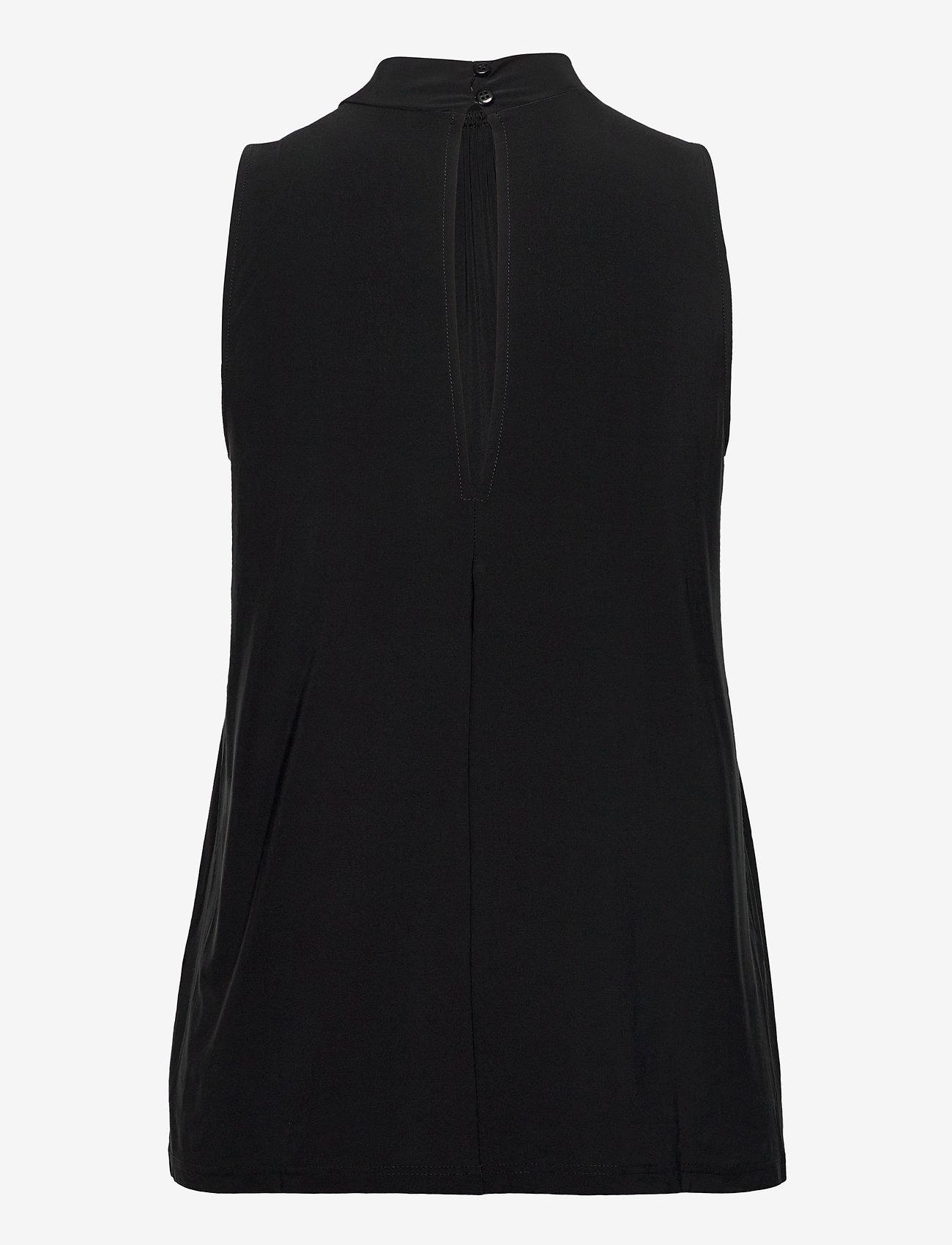 Ilse Jacobsen - TOP - blouses sans manches - black - 1