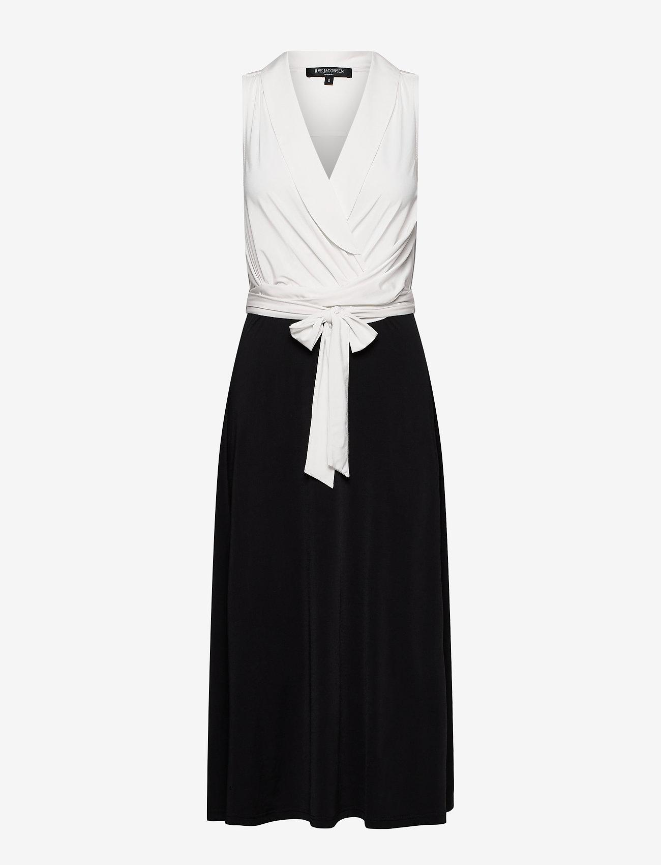 Ilse Jacobsen - Dress - cocktailkjoler - white sugar and black - 0