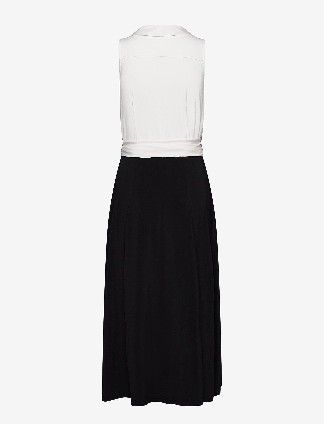 Ilse Jacobsen - Dress - cocktailkjoler - white sugar and black - 1