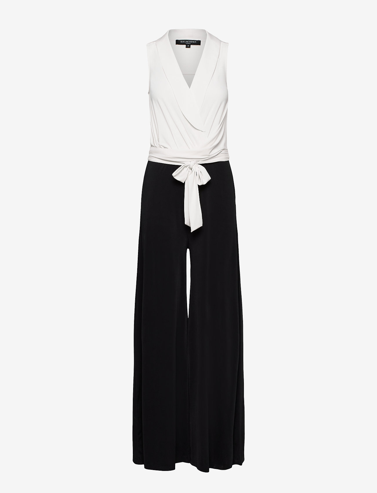 Ilse Jacobsen - Jumpsuit - jumpsuits - white sugar and black - 0