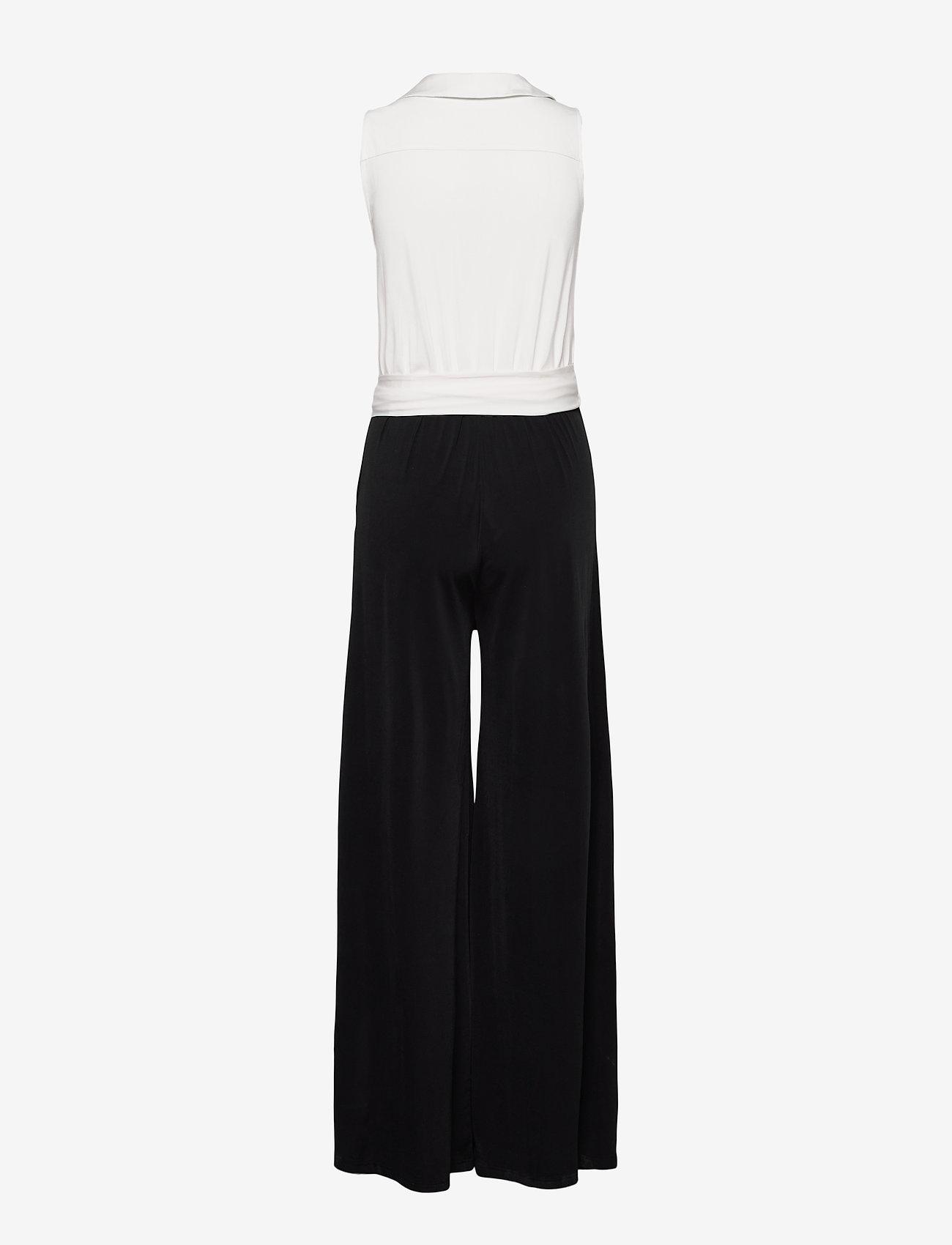 Ilse Jacobsen - Jumpsuit - jumpsuits - white sugar and black - 1