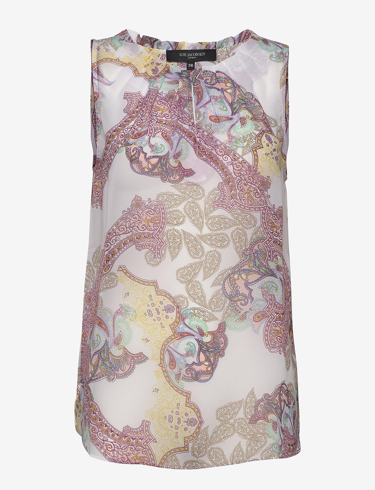 Ilse Jacobsen - TOP - blouses sans manches - white sugar - 0