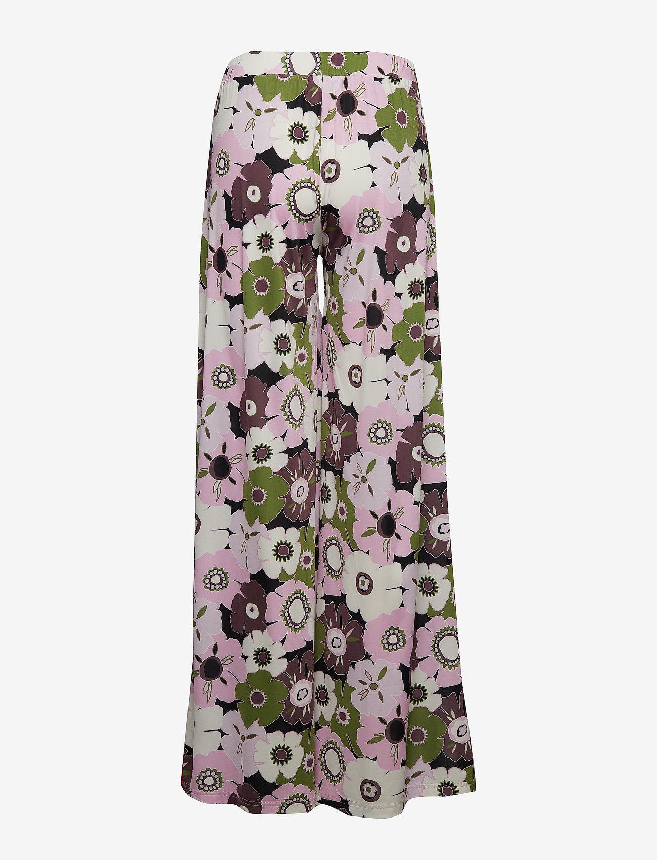 Ilse Jacobsen - PANTS - wide leg trousers - lavender pink