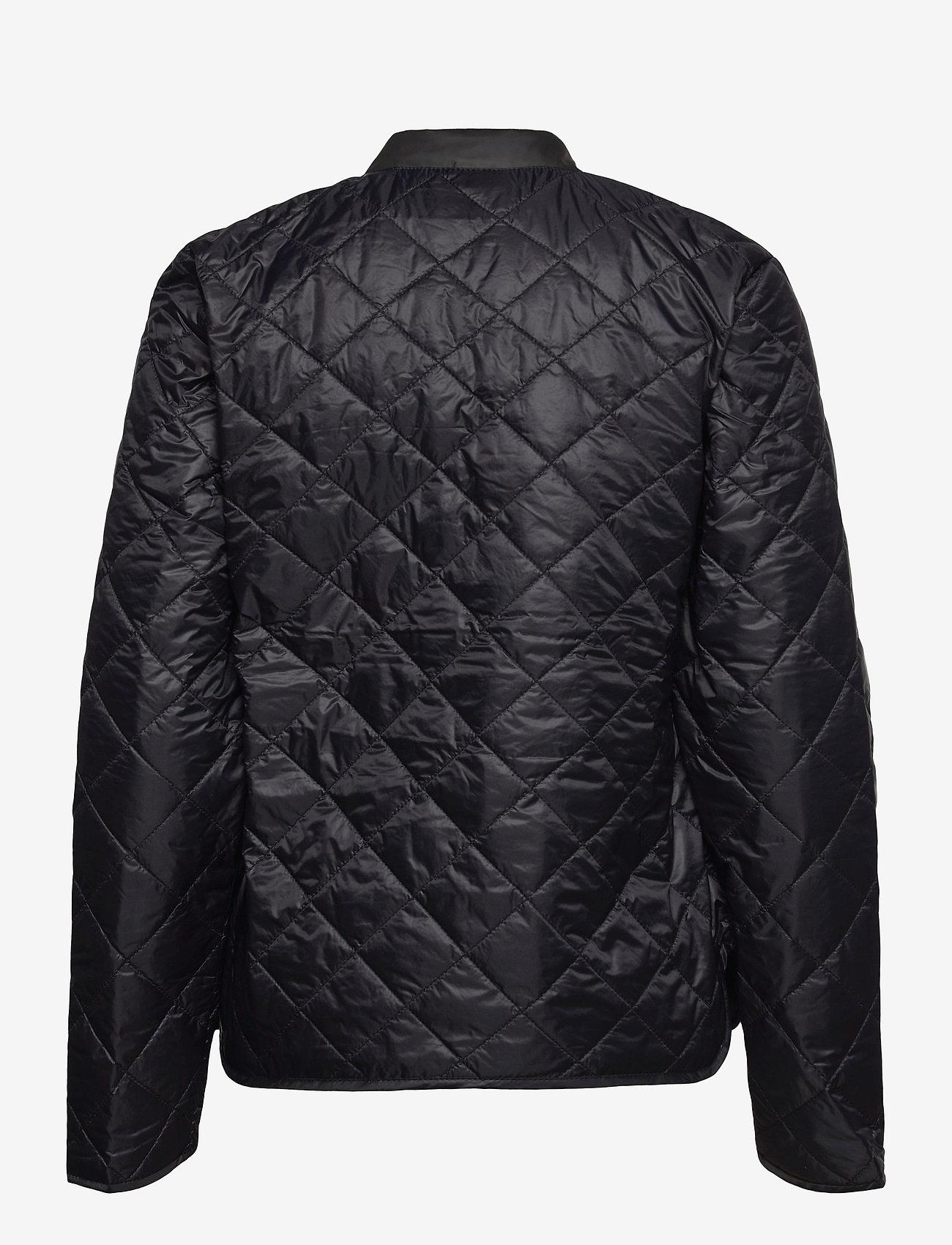 Ilse Jacobsen - Light Quilt Jacket - forede jakker - black - 1