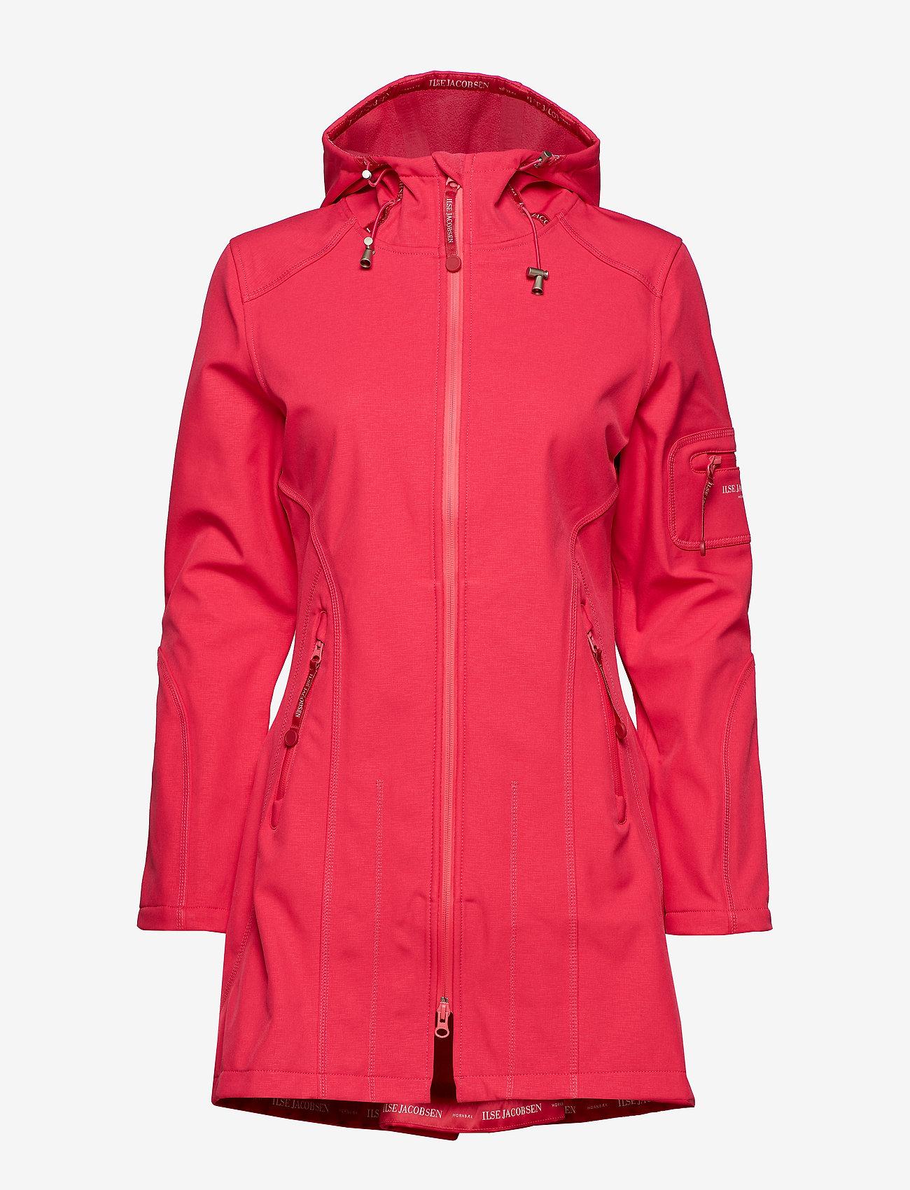 Ilse Jacobsen - RAIN07B - regntøj - warm pink - 1