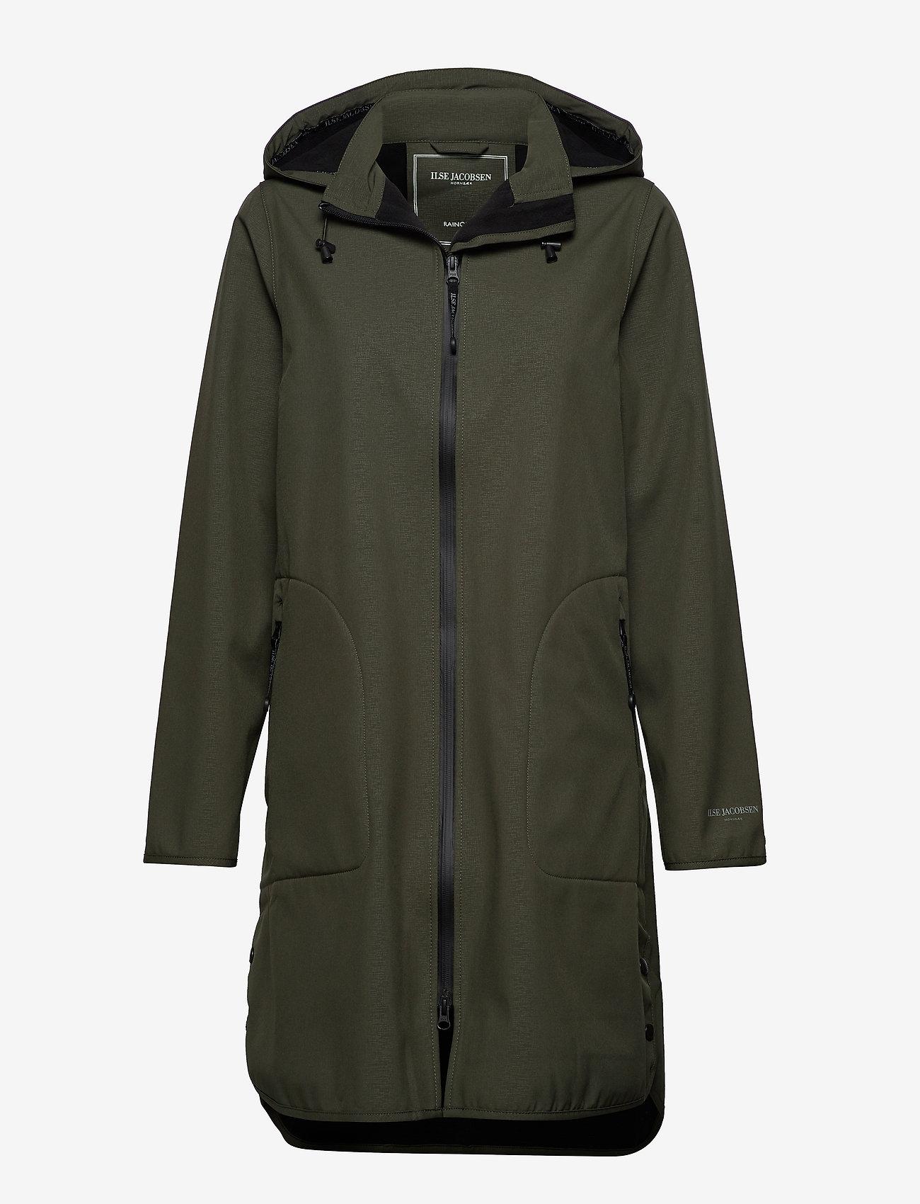 Ilse Jacobsen - Raincoat - regntøj - army - 0