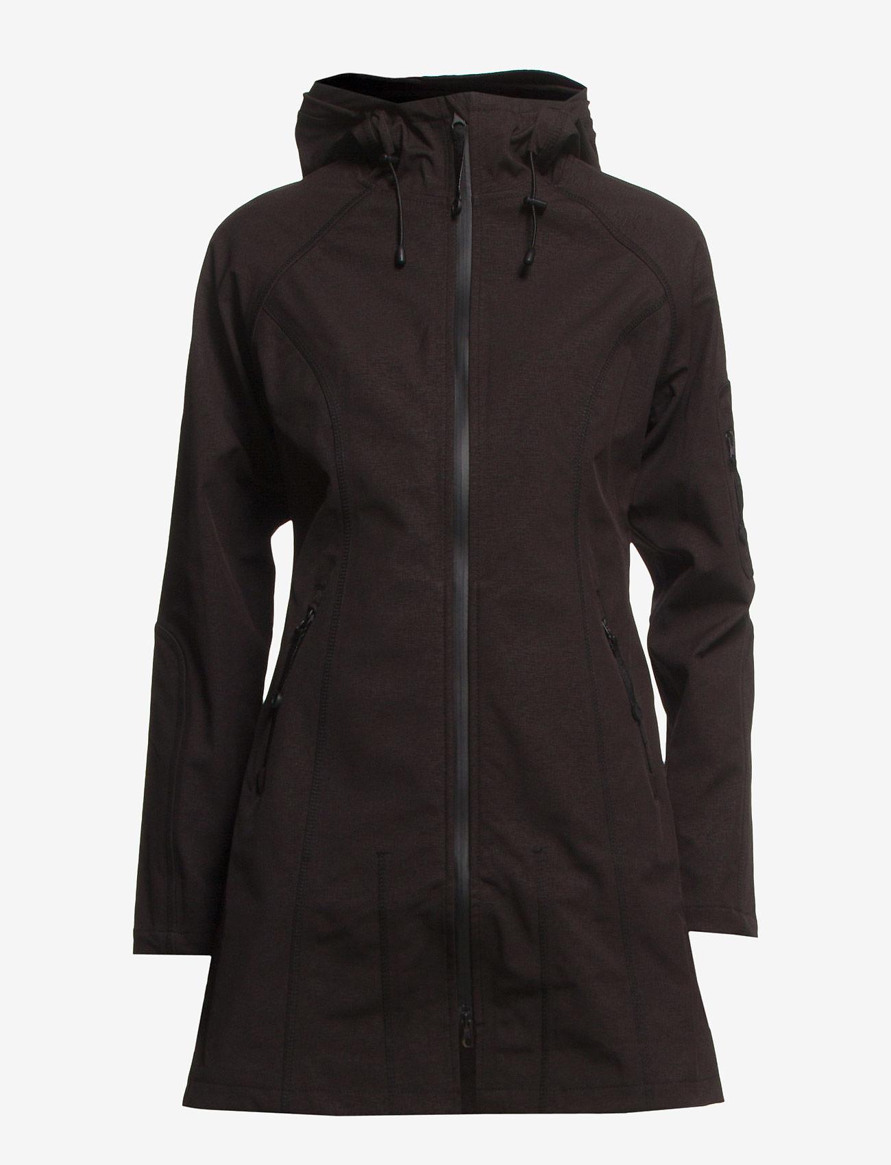 Ilse Jacobsen - Rain - regnjakker - black - 0