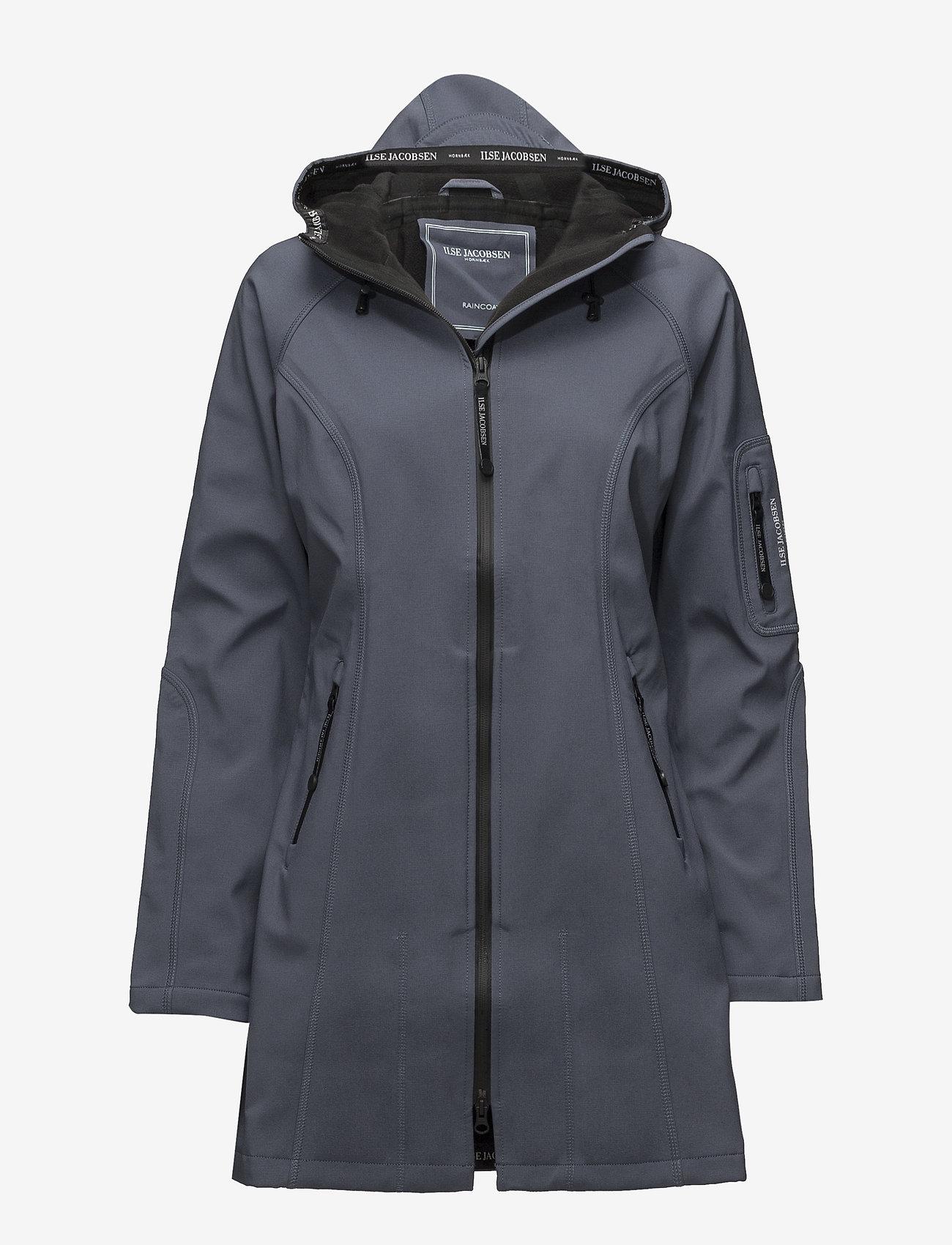 Ilse Jacobsen - Rain - rainwear - blue grayness - 0