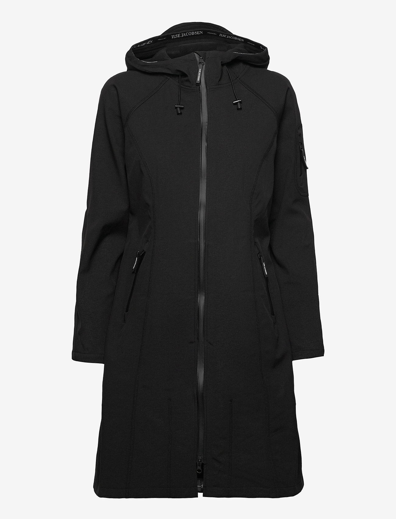 Ilse Jacobsen - LONG RAINCOAT - manteaux de pluie - black - 1