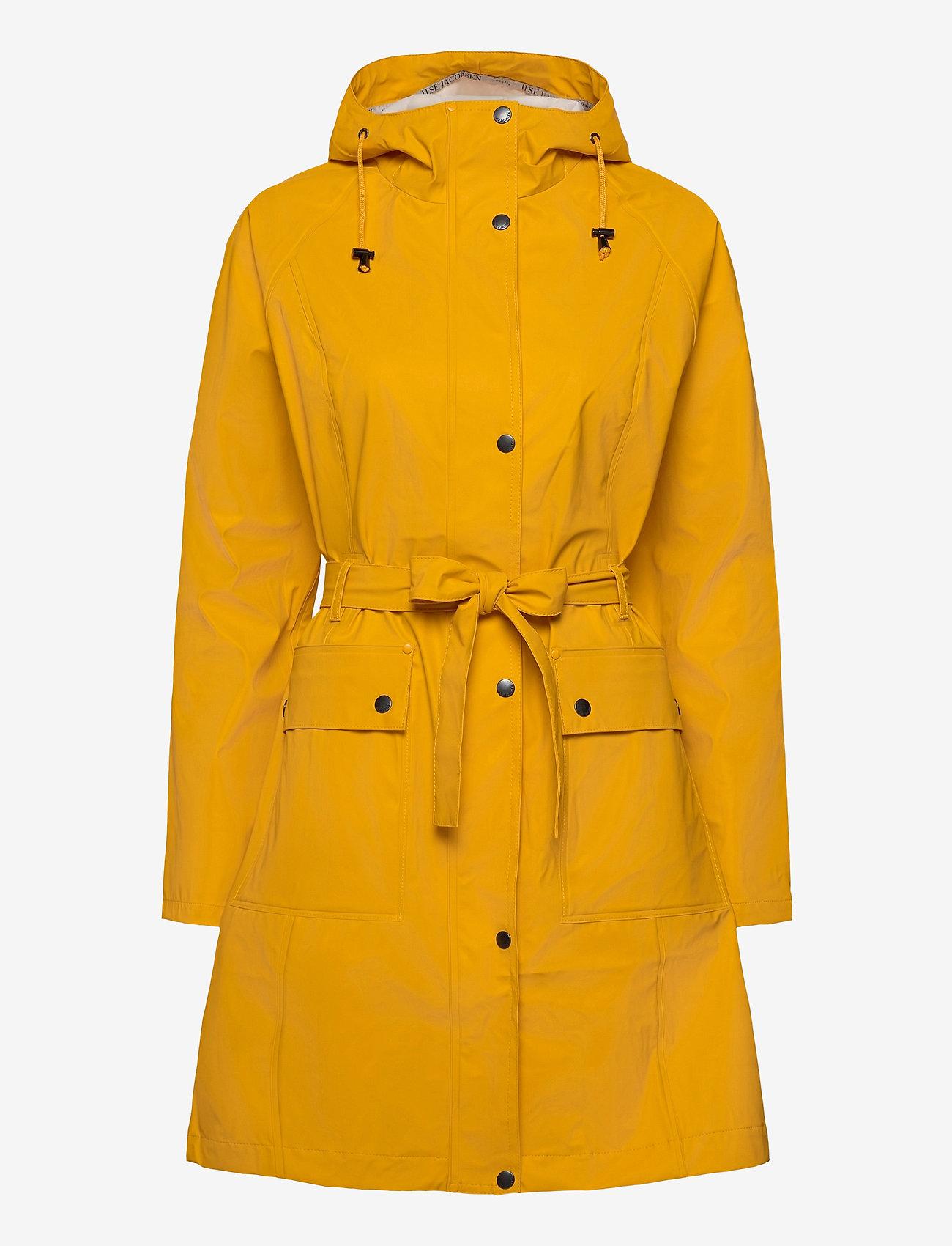 Ilse Jacobsen - RAINCOAT - manteaux de pluie - cyber yellow - 0