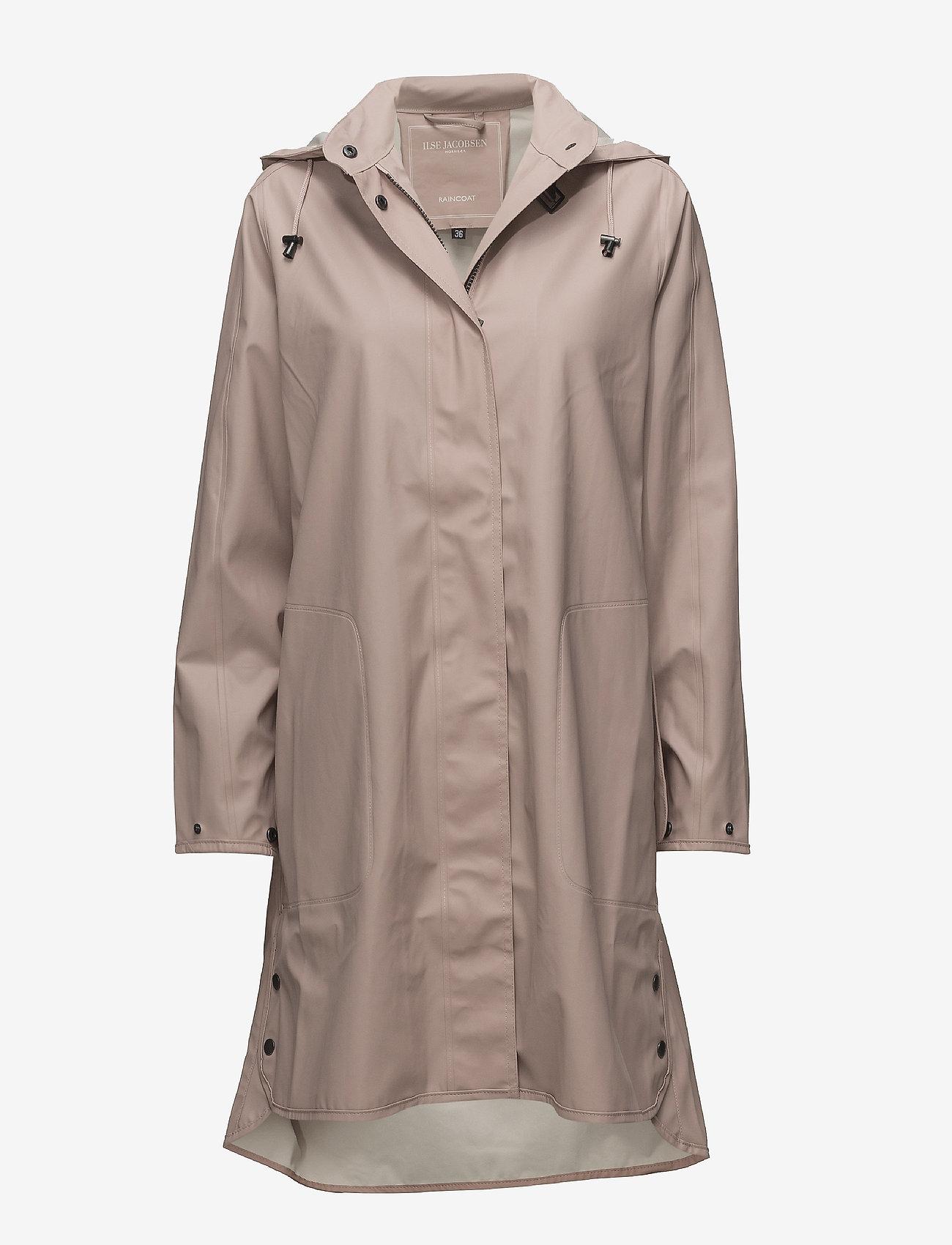 Ilse Jacobsen - RAINCOAT - manteaux de pluie - adobe rose - 0