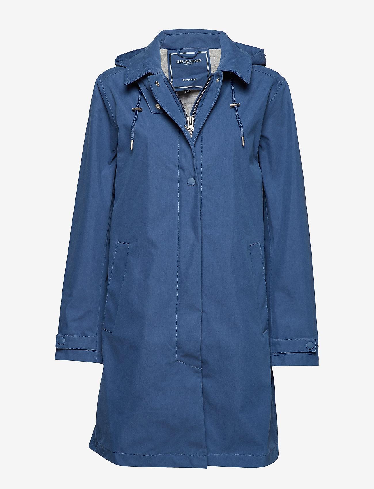 Ilse Jacobsen - RAINCOAT - manteaux de pluie - blue rock - 0