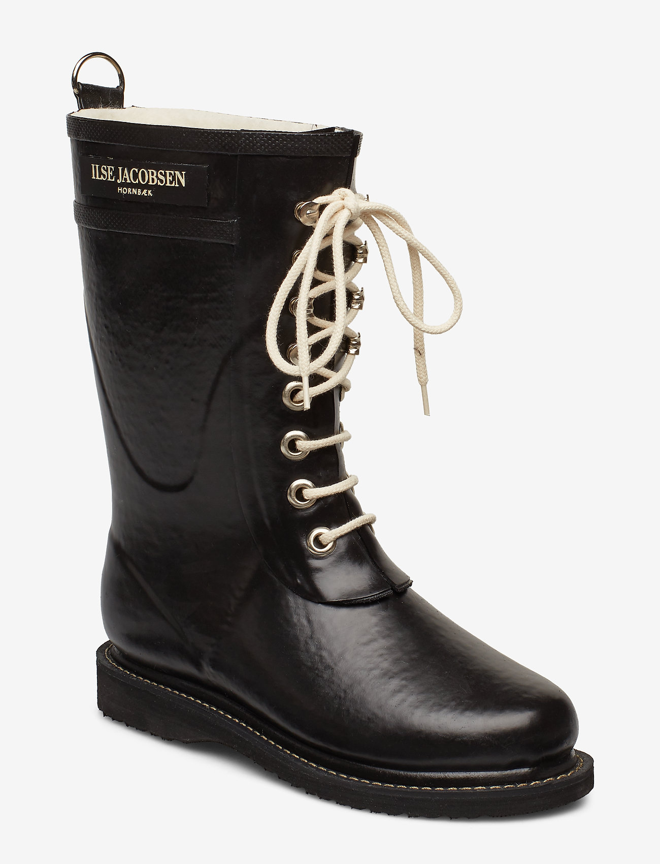 Ilse Jacobsen - 3/4 RUBBERBOOT - kalosze - black - 0
