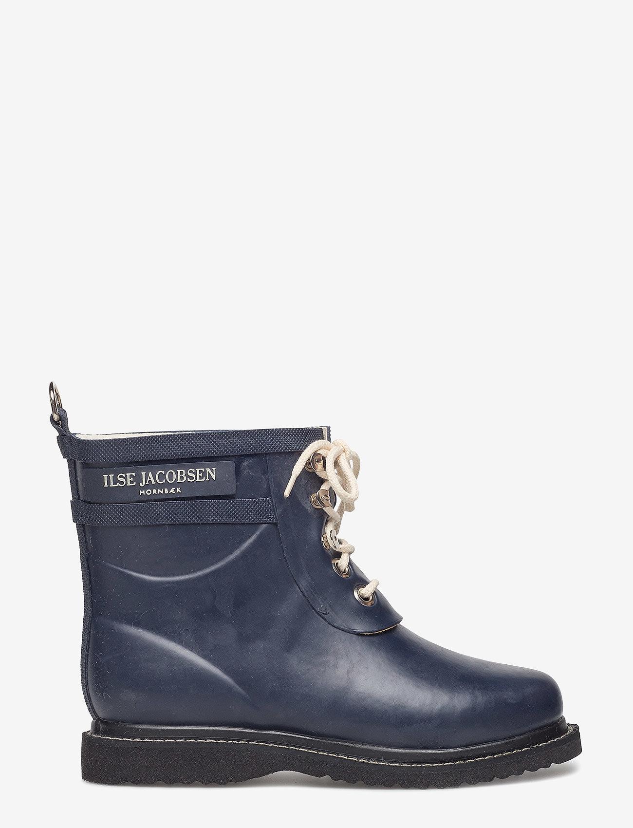 Ilse Jacobsen - SHORT RUBBERBOOT - regenlaarzen - dark indigo - 1