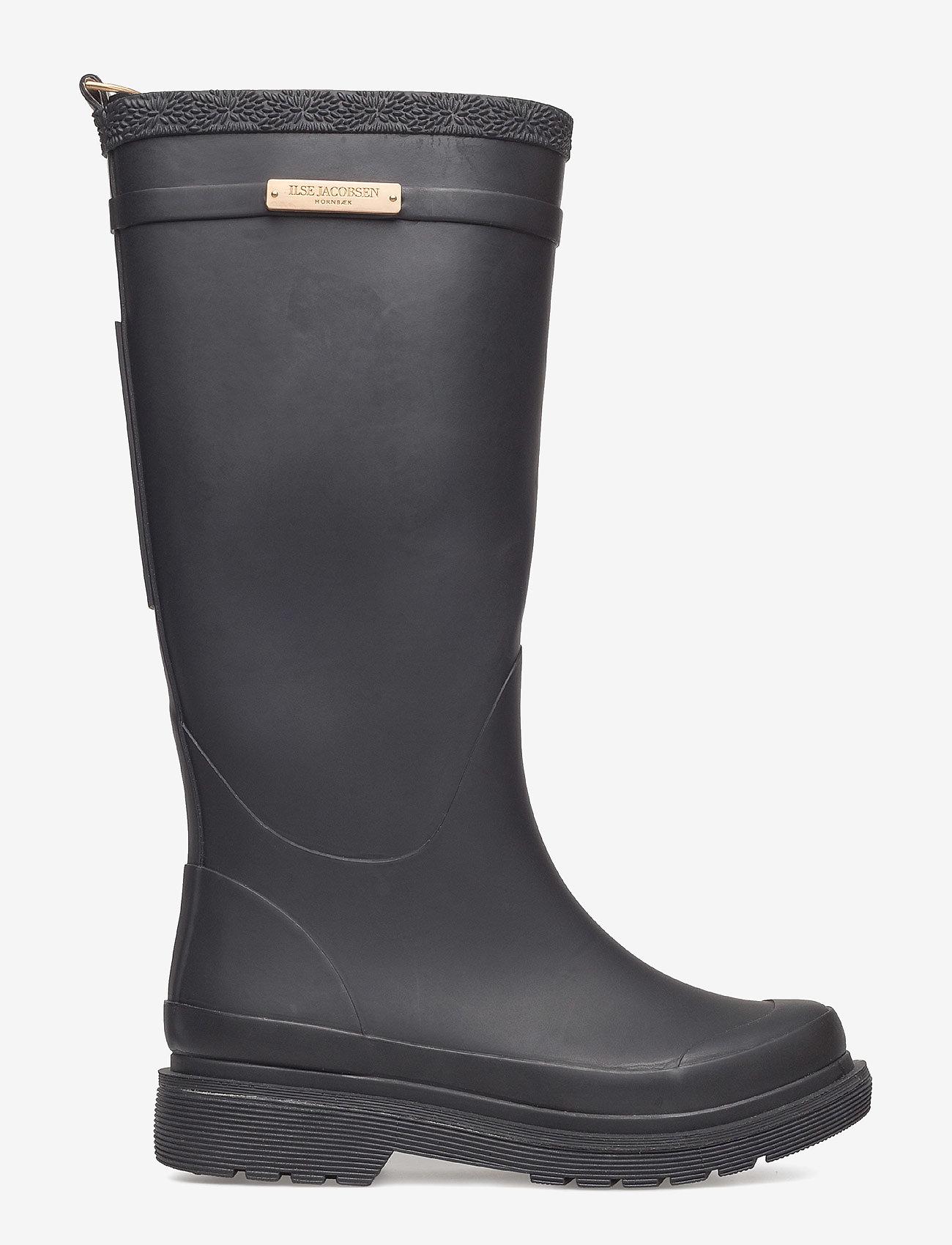 Rubber Boots (Black) - Ilse Jacobsen OYwruO