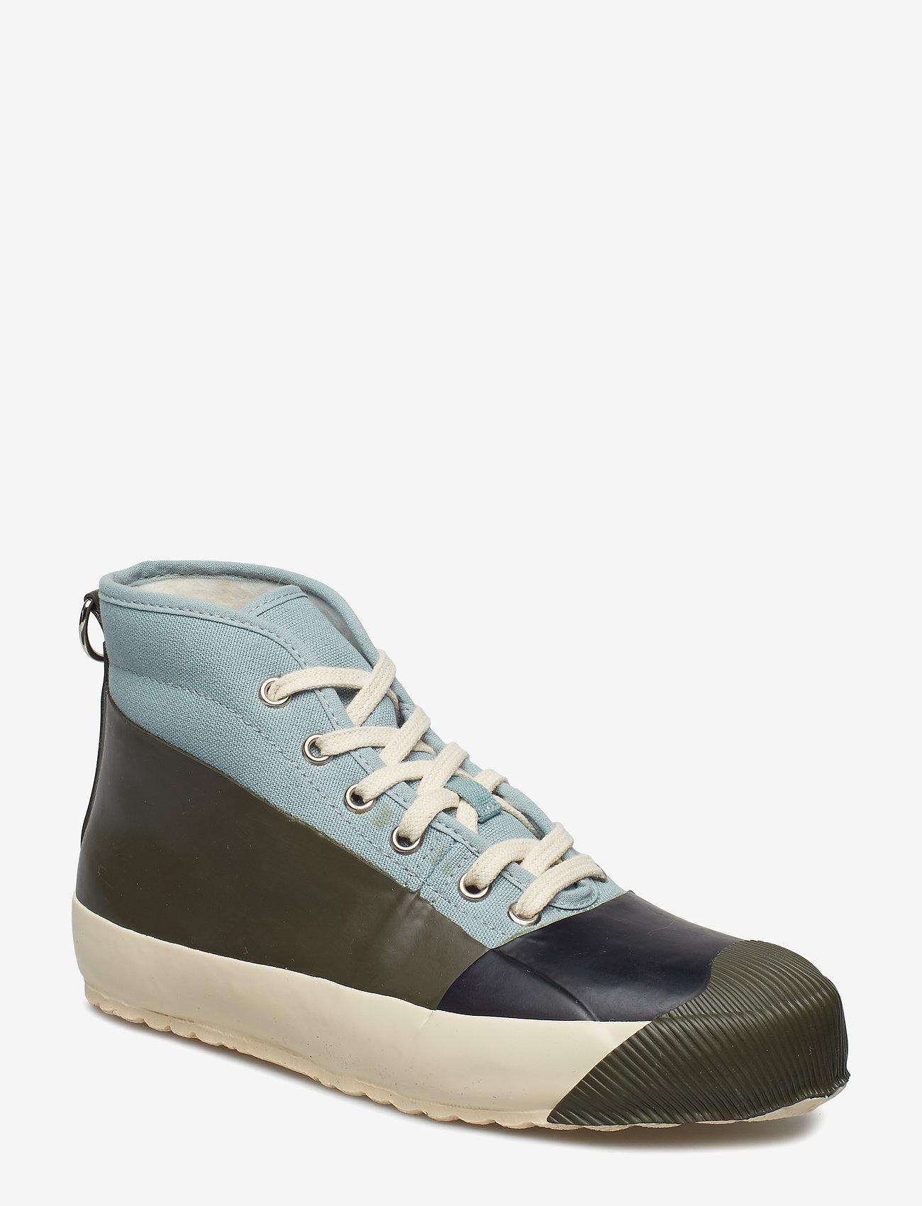 Ilse Jacobsen - RUB SNEAKER - sneakersy wysokie - army - 1