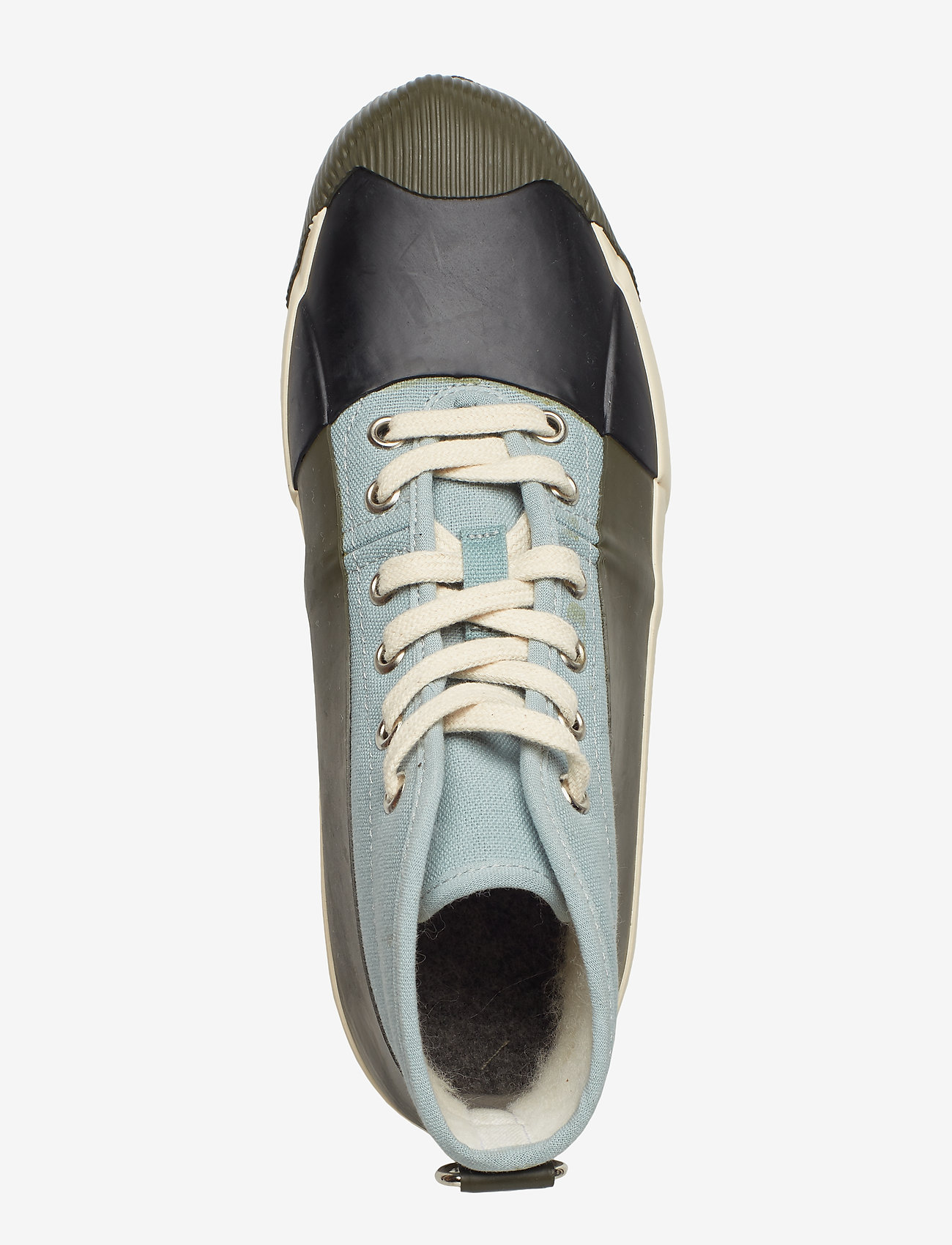 Ilse Jacobsen - RUB SNEAKER - sneakersy wysokie - army - 3
