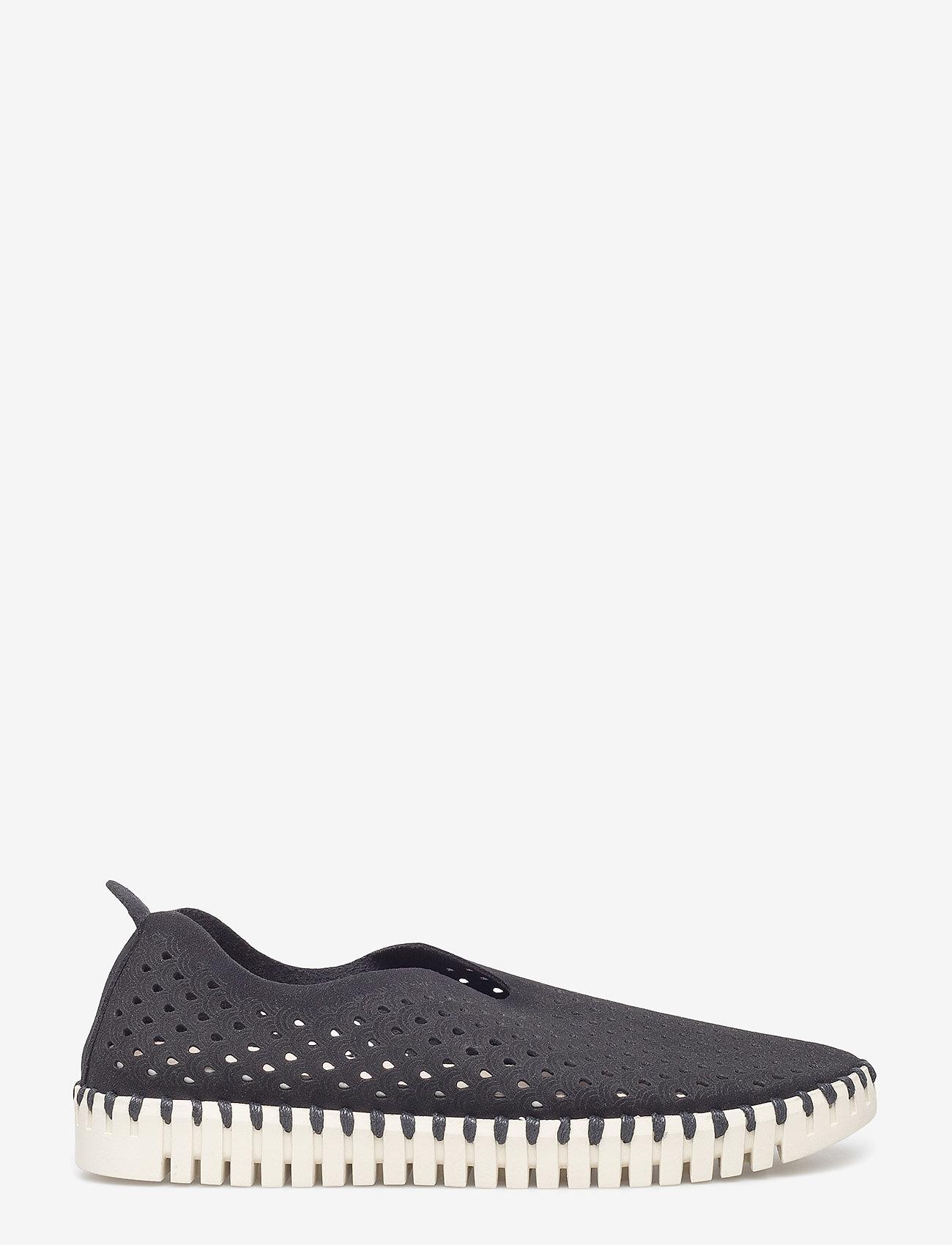 Ilse Jacobsen - Flats - slip-on sneakers - 01 black - 1