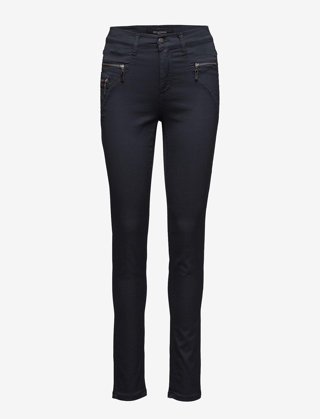 Ilse Jacobsen - TROUSERS - broeken med skinny fit - dark indigo - 0