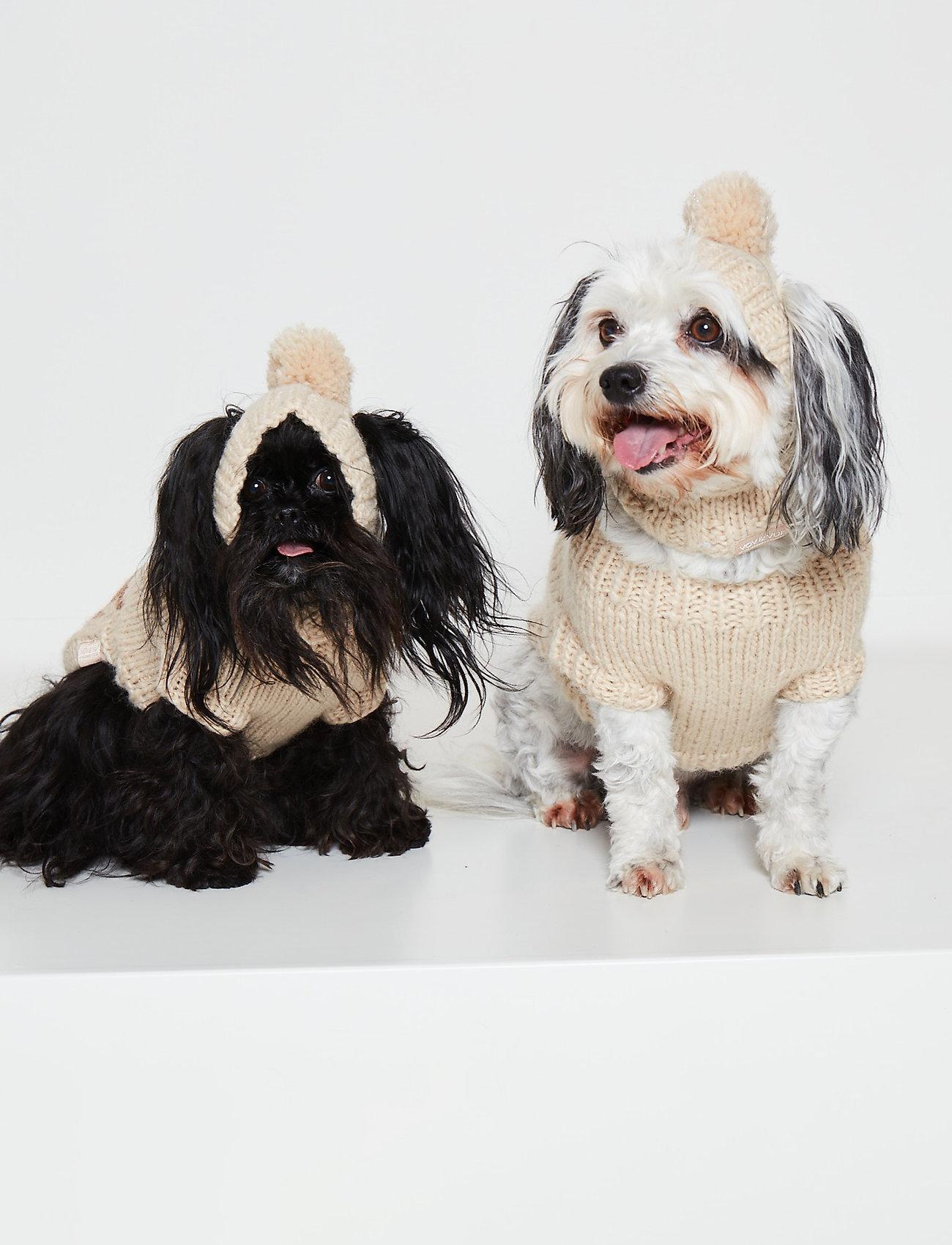 Ilse Jacobsen - Dog Knit Hat - accessoires pour chiens - natural - 0