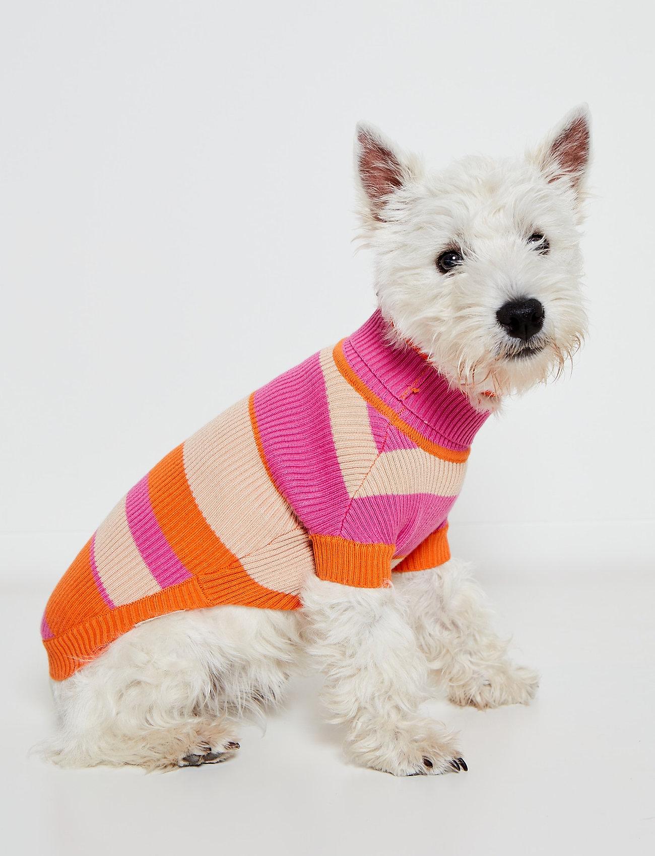 Ilse Jacobsen - Dog Knit - dog accessories - red orange - 0