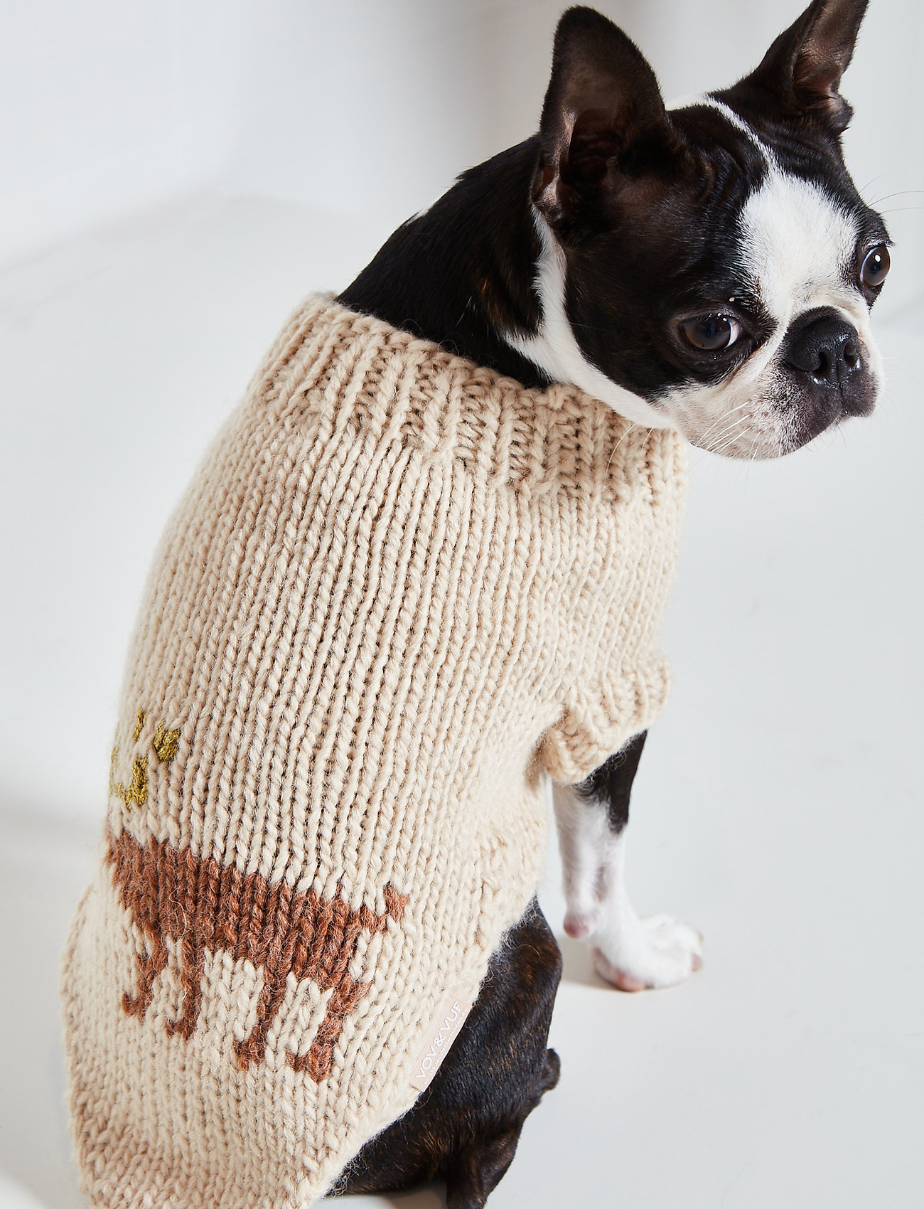 Ilse Jacobsen - Dog Knit - dog accessories - natural - 0