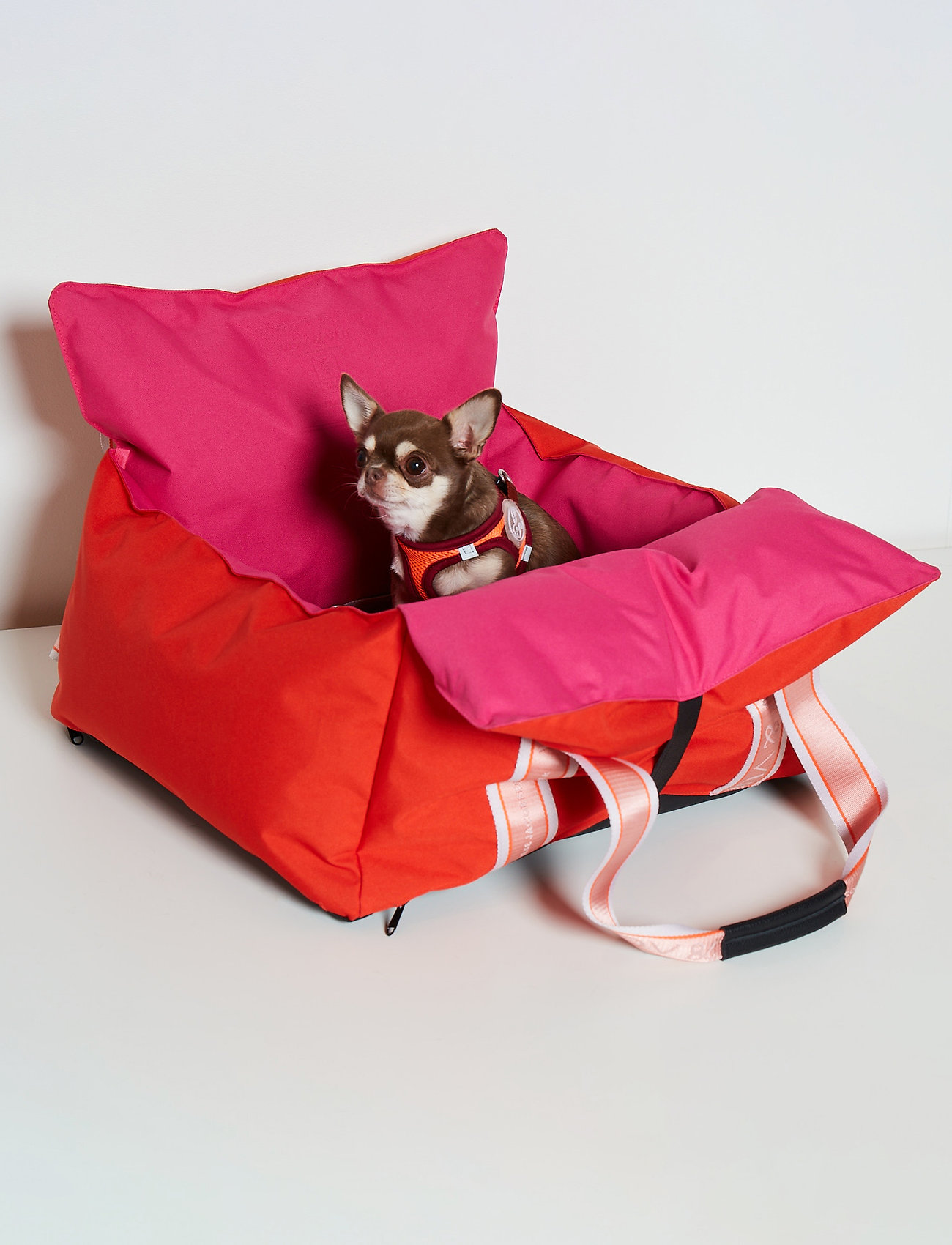 Ilse Jacobsen - Dog Harness - hundetilbehør - burnt henna red orange - 0