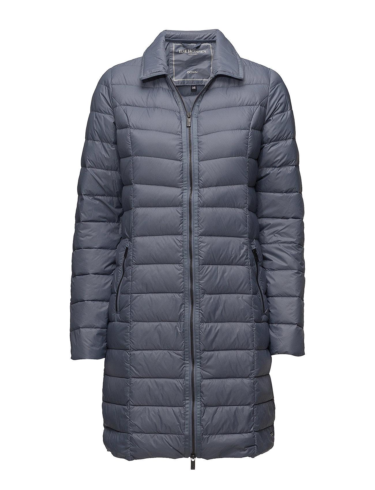 Light Down Coat (Blue Grayness) (£96.25) - Ilse Jacobsen -  6bc9117531