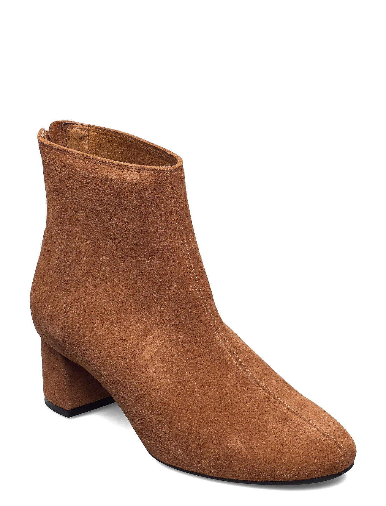 Image of High Heel Ankle Boot Shoes Boots Ankle Boots Ankle Boot - Heel Brun Ilse Jacobsen (3461043895)