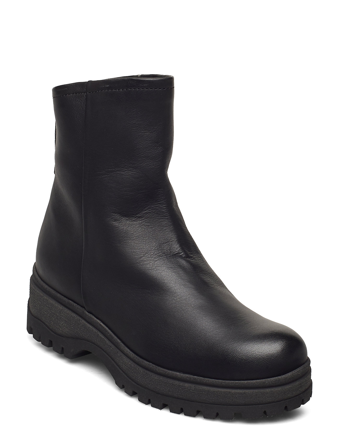 Image of Ankle Boot Shoes Boots Ankle Boots Ankle Boot - Flat Sort Ilse Jacobsen (3452238953)