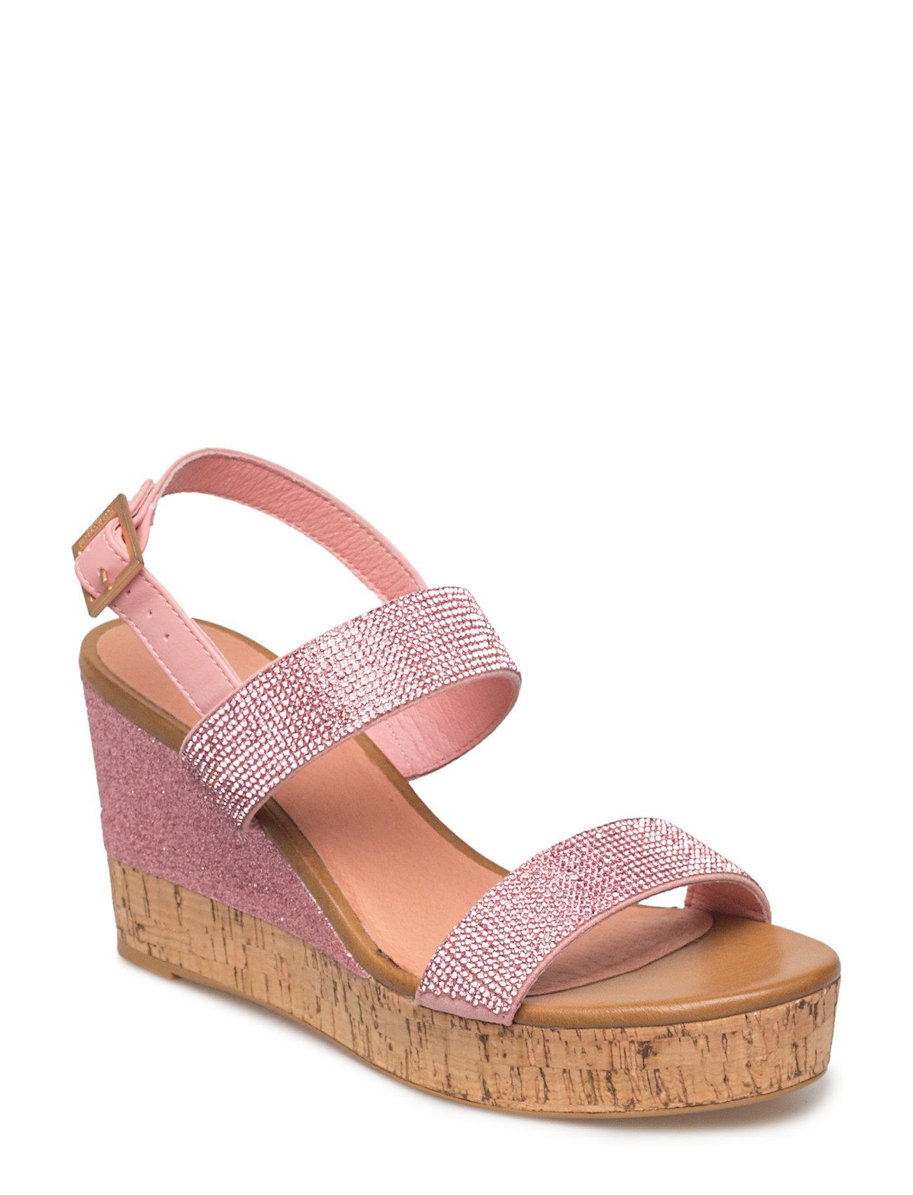 €Large Ilse Womens Metallic Sandal721 Rose45 Jacobsen wvm0ON8n