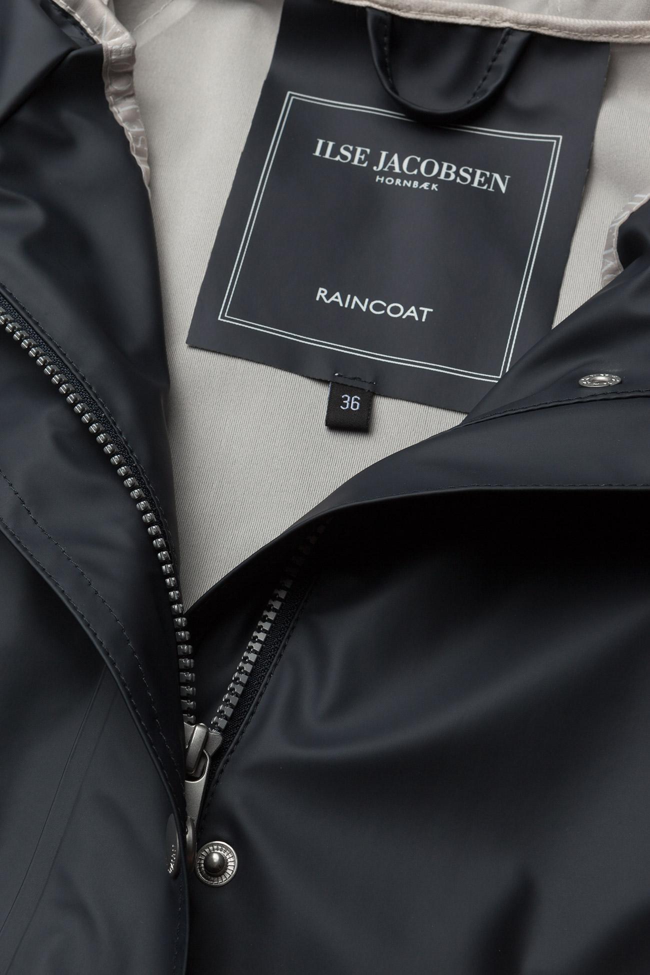Ilse Jacobsen - Raincoat - regnjakker - dark indigo - 1